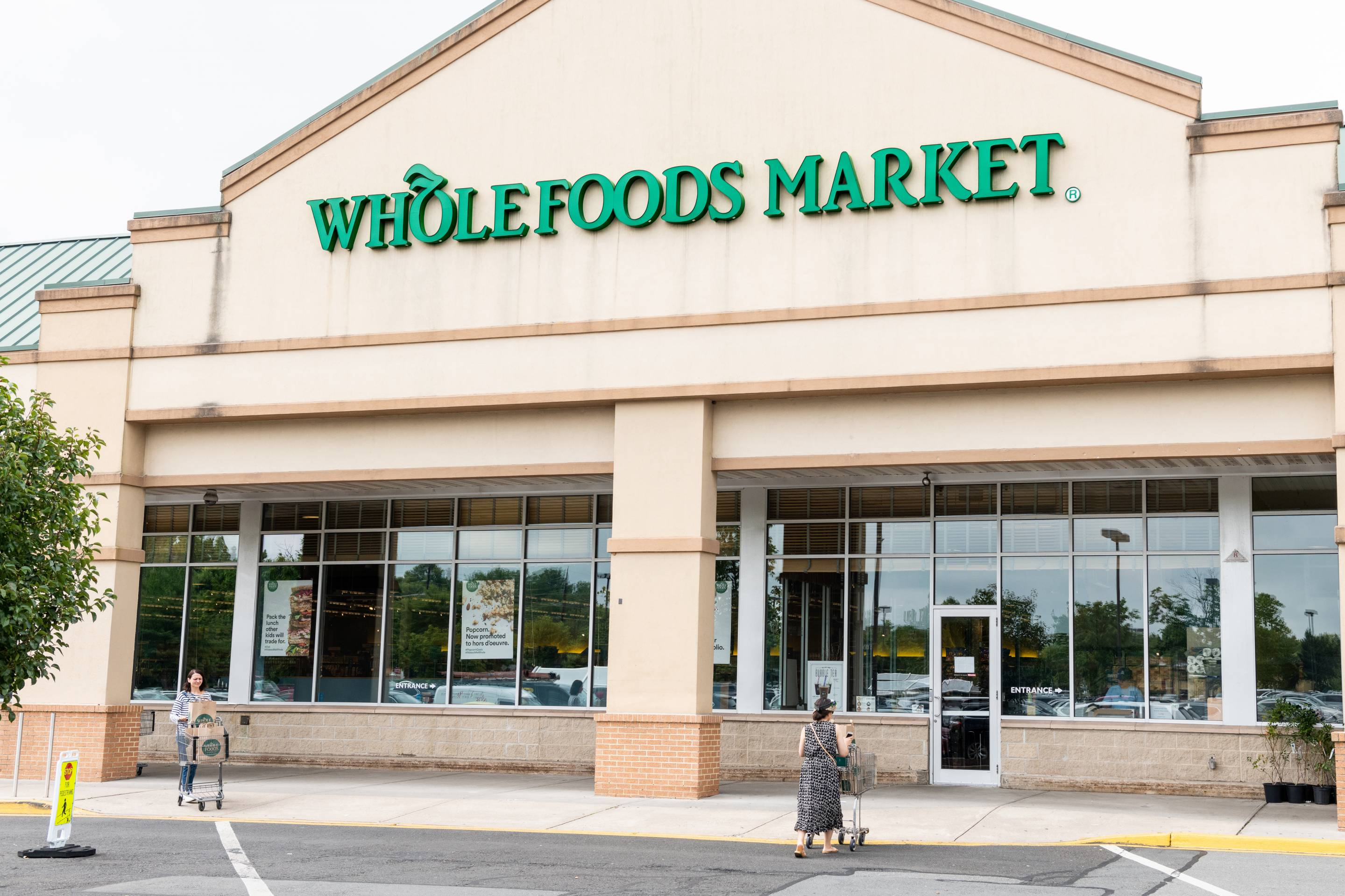 Whole Foods Market store in Princeton, New Jersey