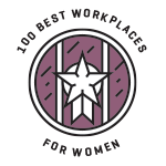 100 best workplaces for women logo