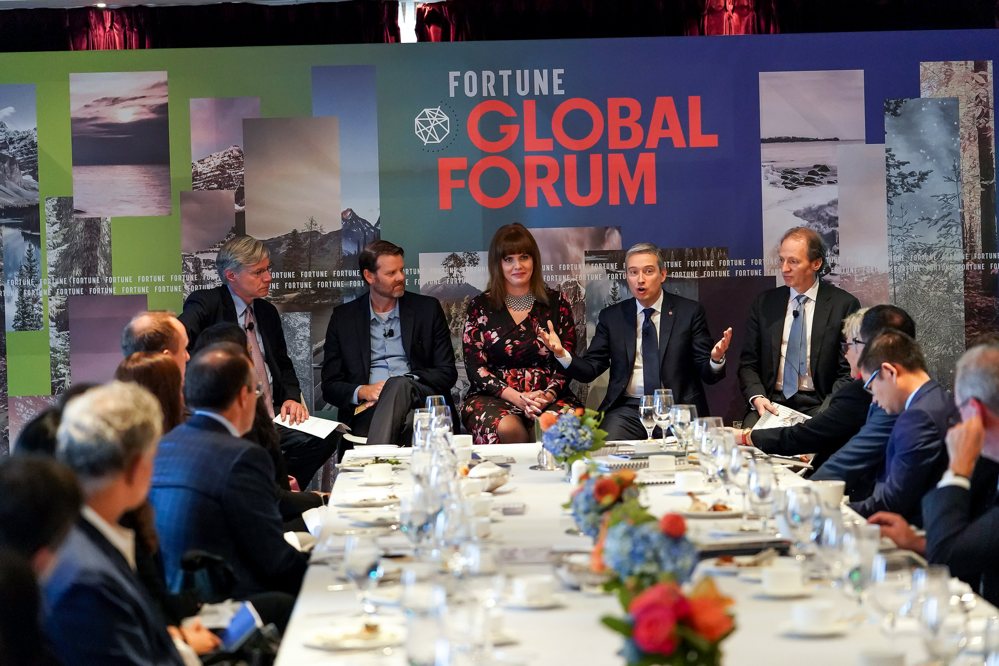 Fortune Global Forum 2018. Toronto, Canada. October 15th, 2018.