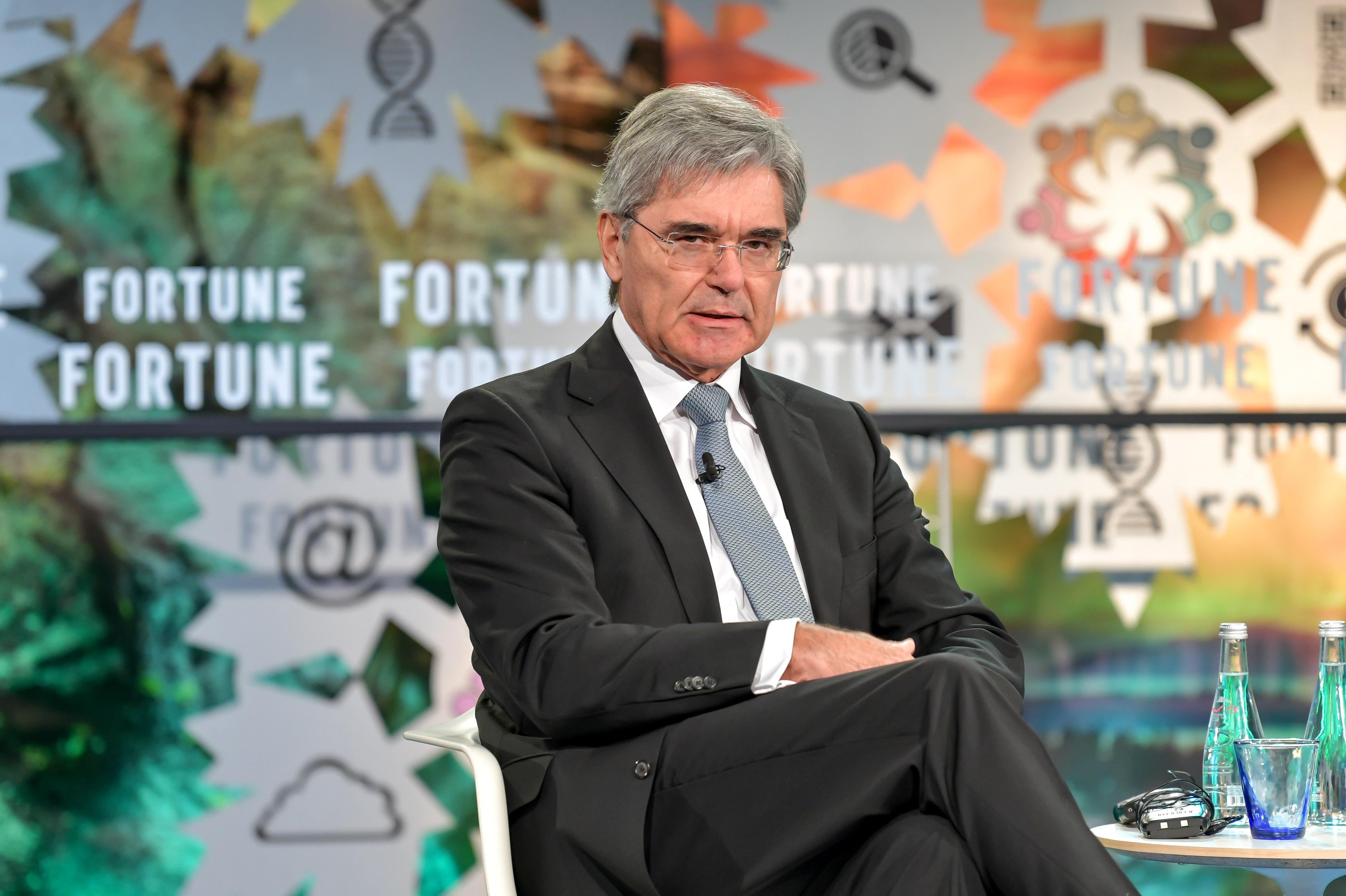 Siemens CEO Joe Kaeser at the Fortune Global Forum 2018