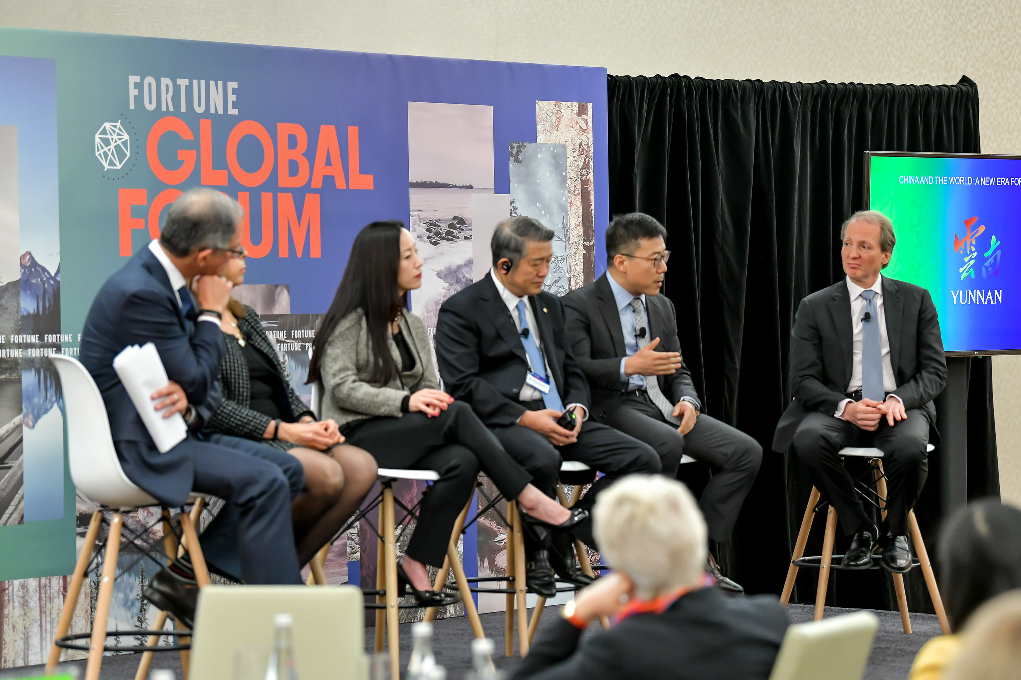 Fortune Global Forum meeting in Toronto on October 15, 2018.