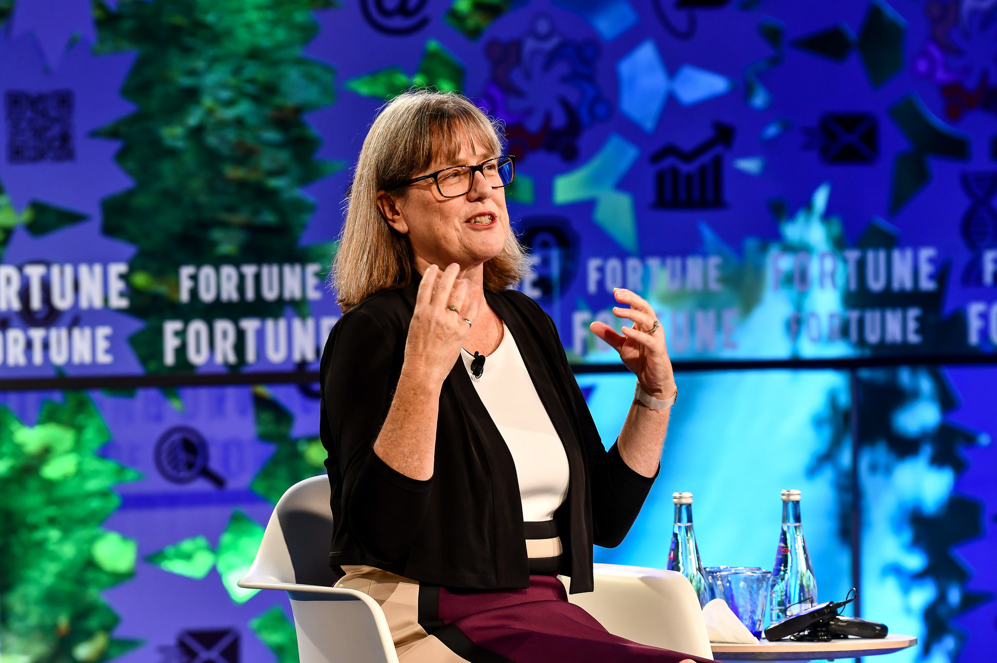Donna Strickland, 2018 Nobel Laureate in Physics and a University of Waterloo professor, at the 2018 Fortune Global Forum in Toronto.