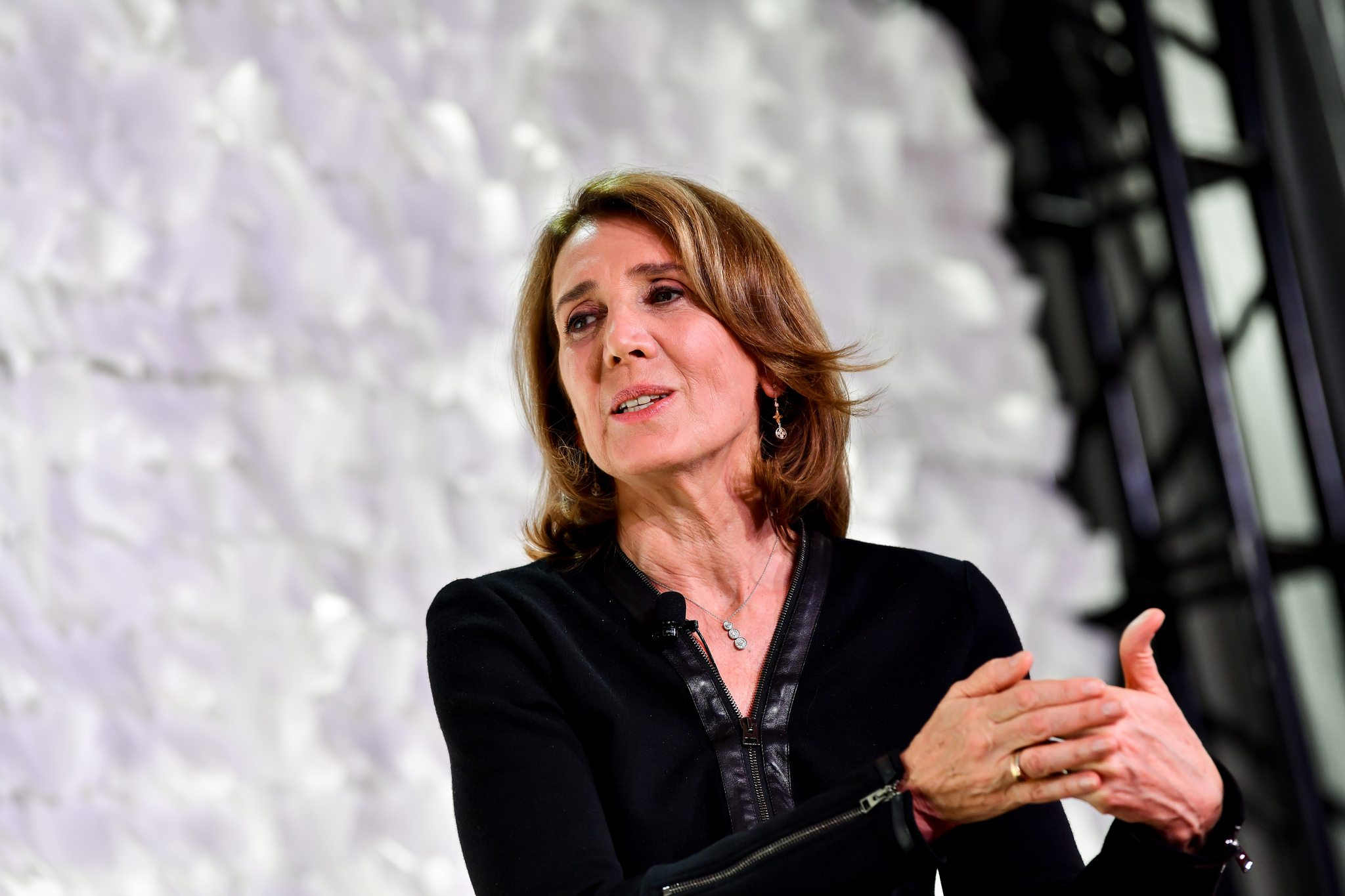 Alphabet and Google CFO Ruth Porat, speaking to Pattie Sellers, at the 2018 Fortune Most Powerful Women Summit in Laguna Niguel, Calif.