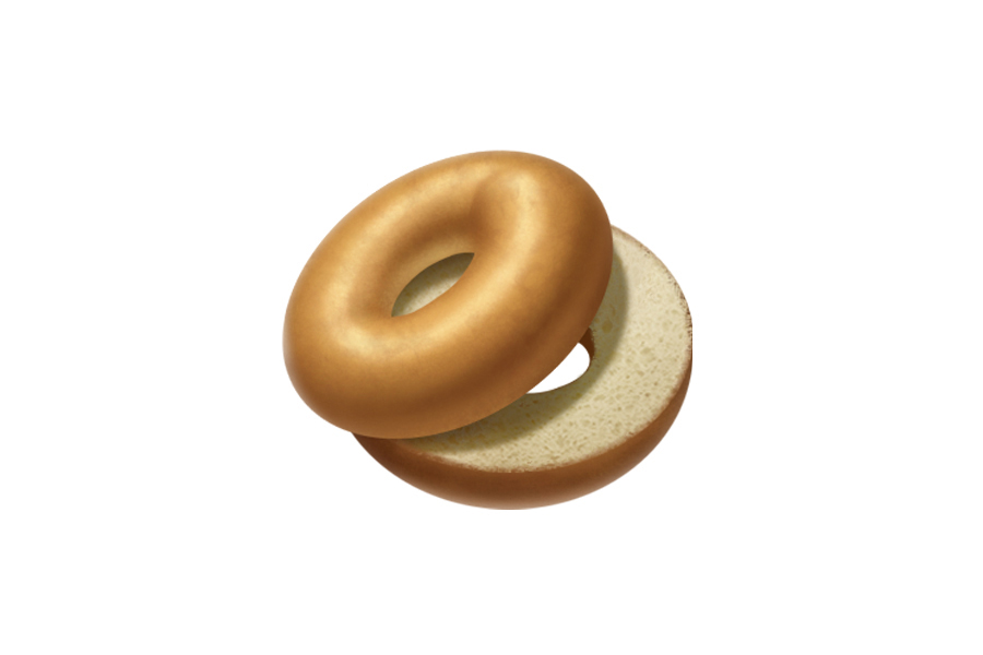Where's the cream cheese!? Apple's new dry, smooth bagel emoji ignites furor over bagel authenticity across the internet.