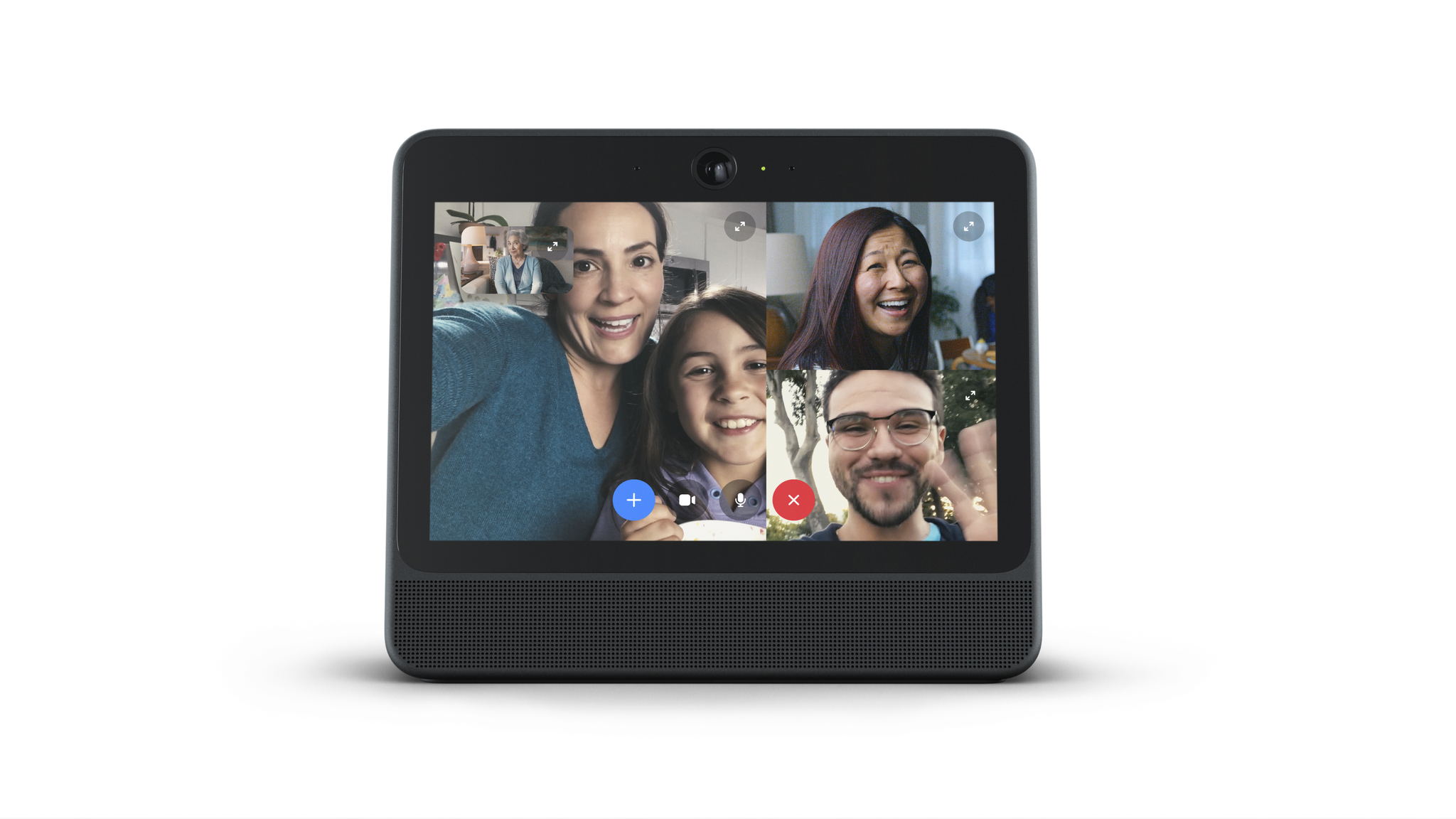 """Portal from Facebook Hands-Free Video Calling with Alexa Built-in 10.1"""" Smart"""