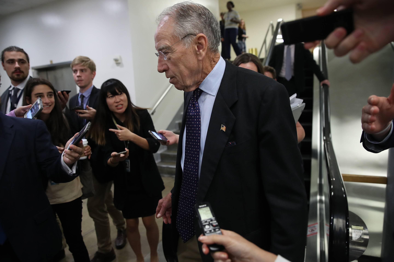 Senators Await FBI Report On Supreme Court Nominee Brett Kavanaugh