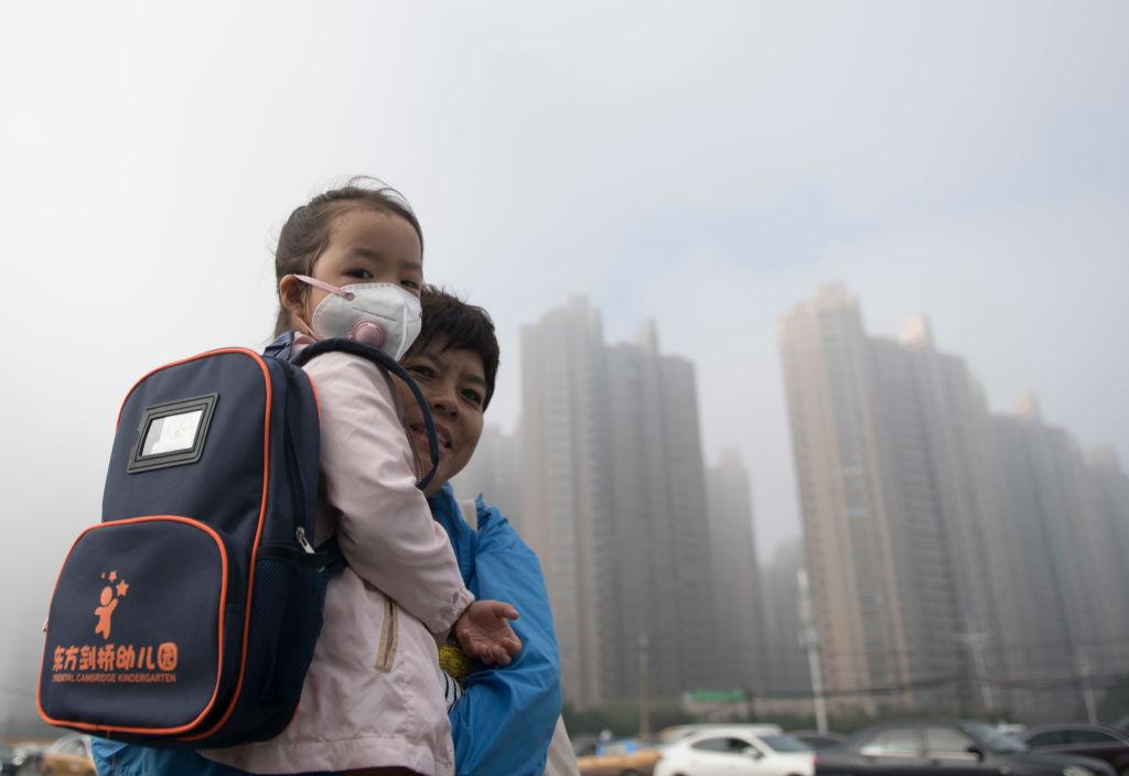 Dense Fog Enveloped Harbin