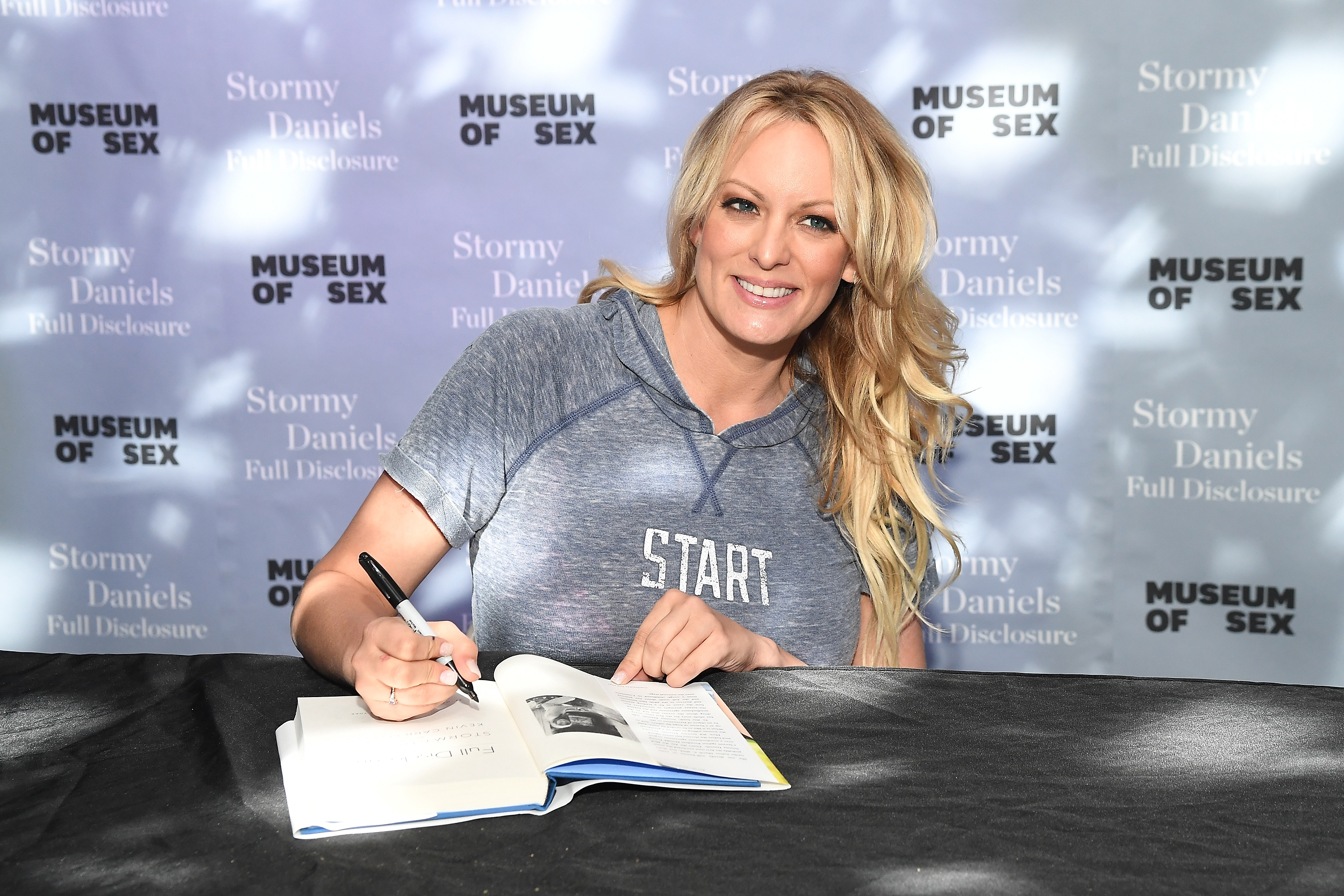 "Stormy Daniels Signs Copies Of Her New Book ""Full Disclosure"""