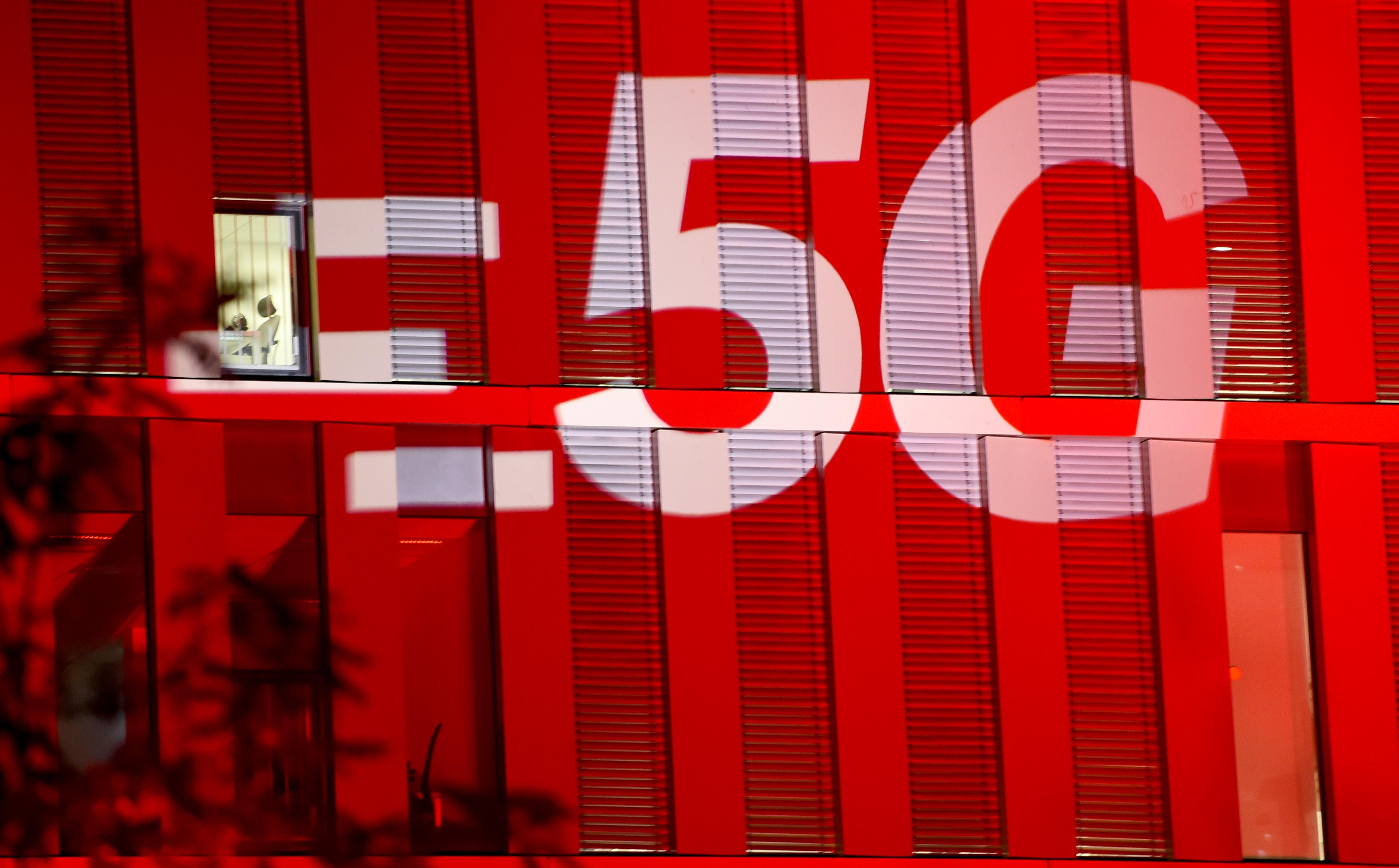 5G wireless symbol