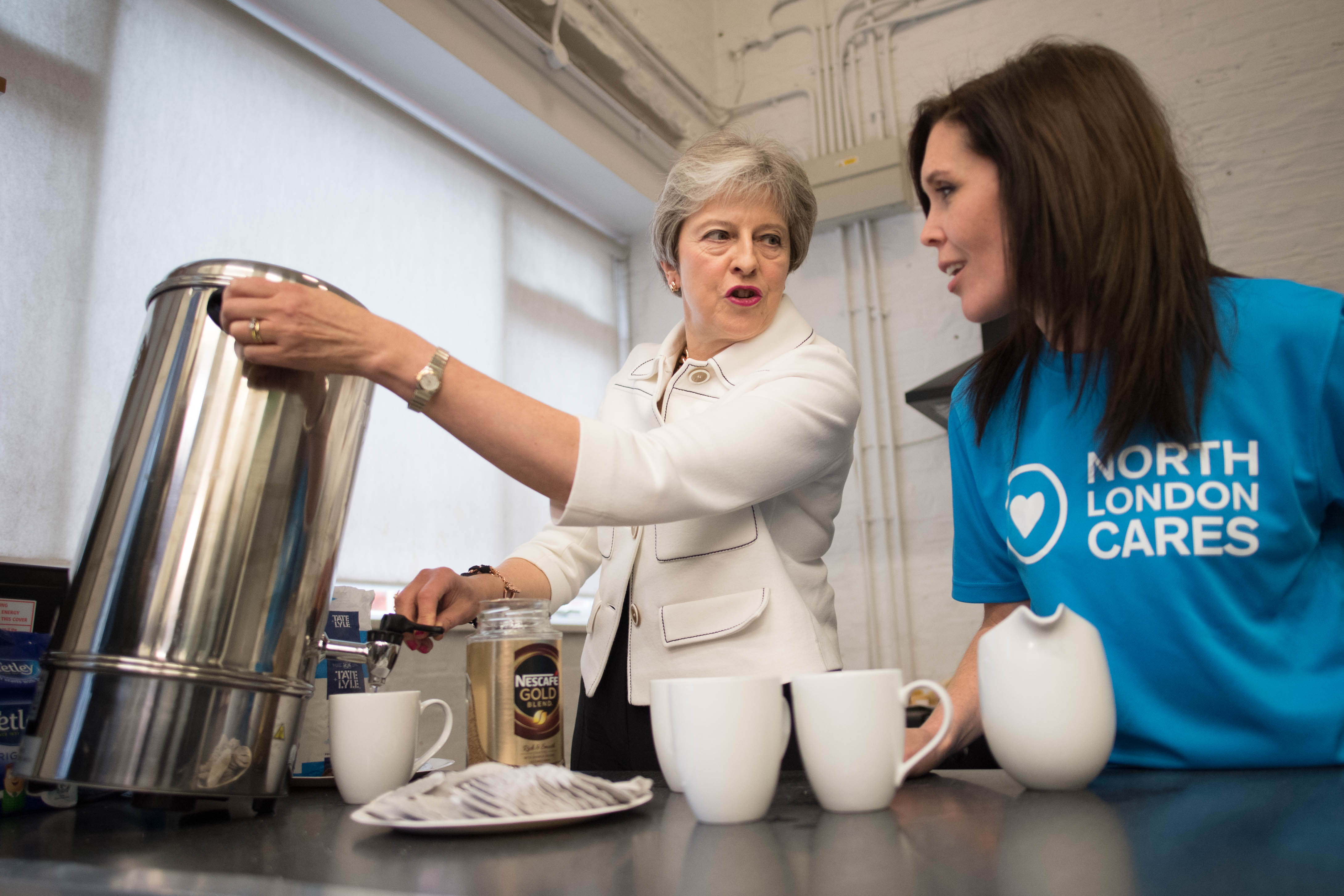 Theresa May Launches The Government's Loneliness Strategy