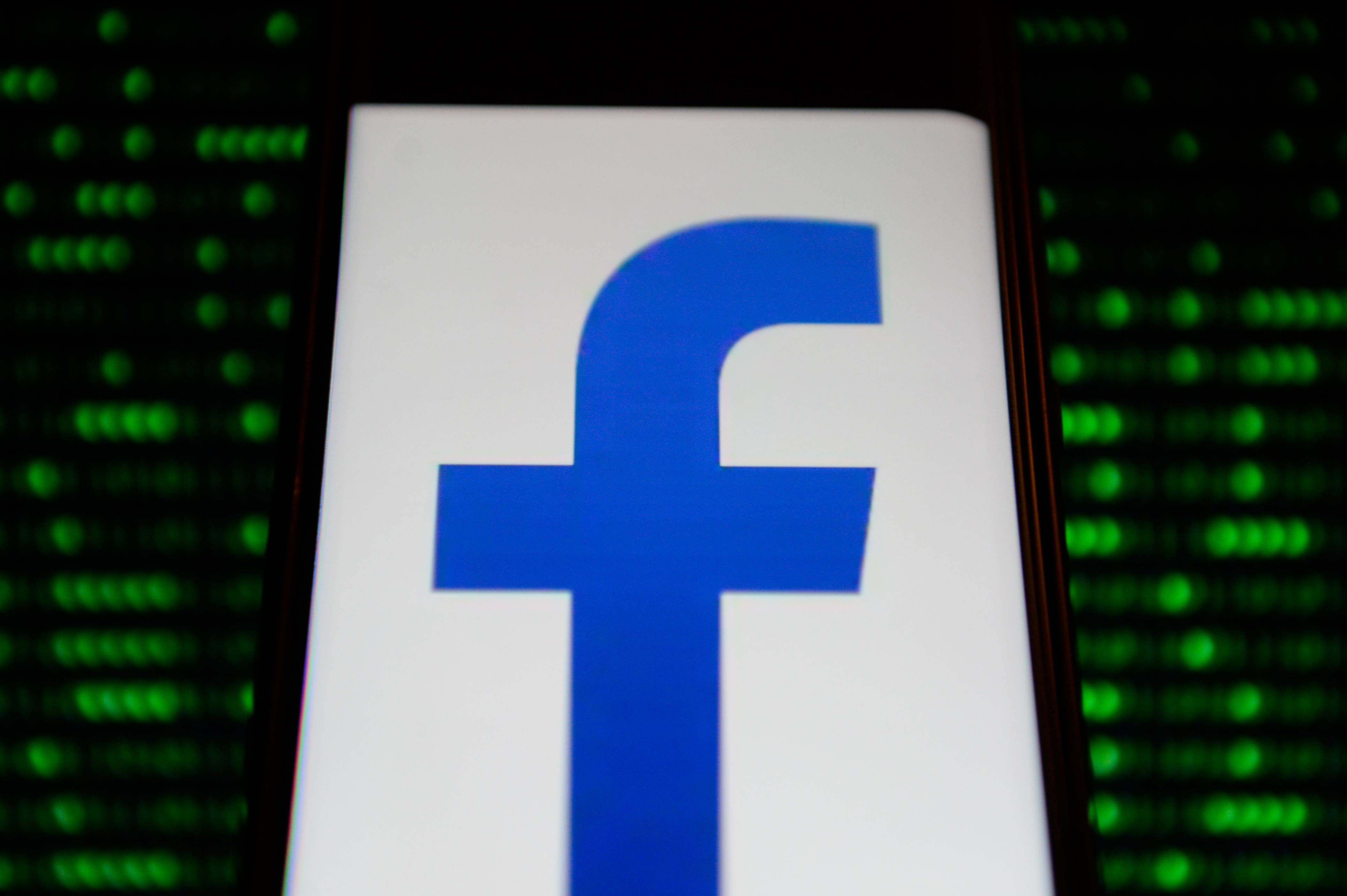 Facebook lite logo is seen in an Android mobile device