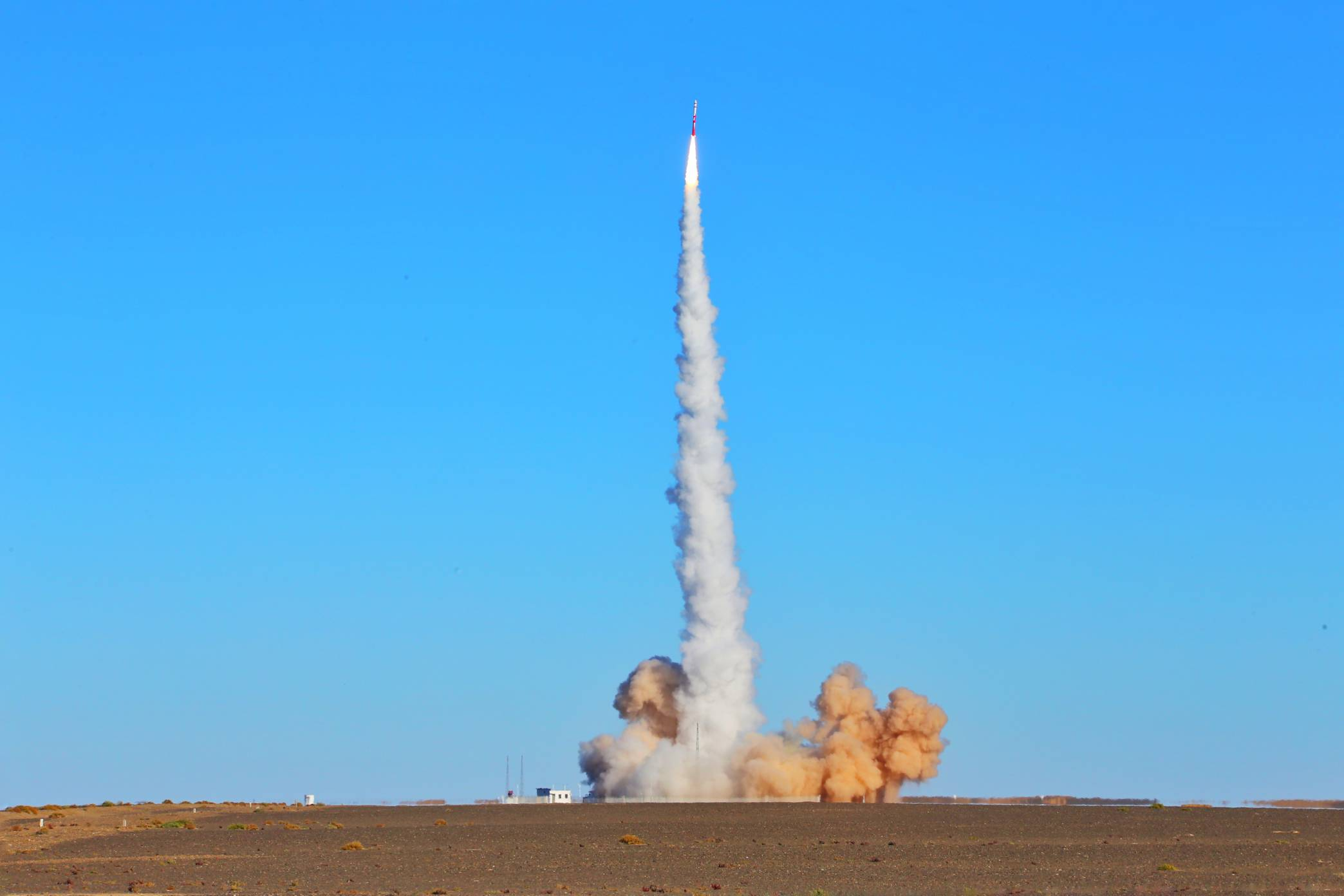 China's First Private Carrier Rocket ZQ-1 Launched In Jiuquan