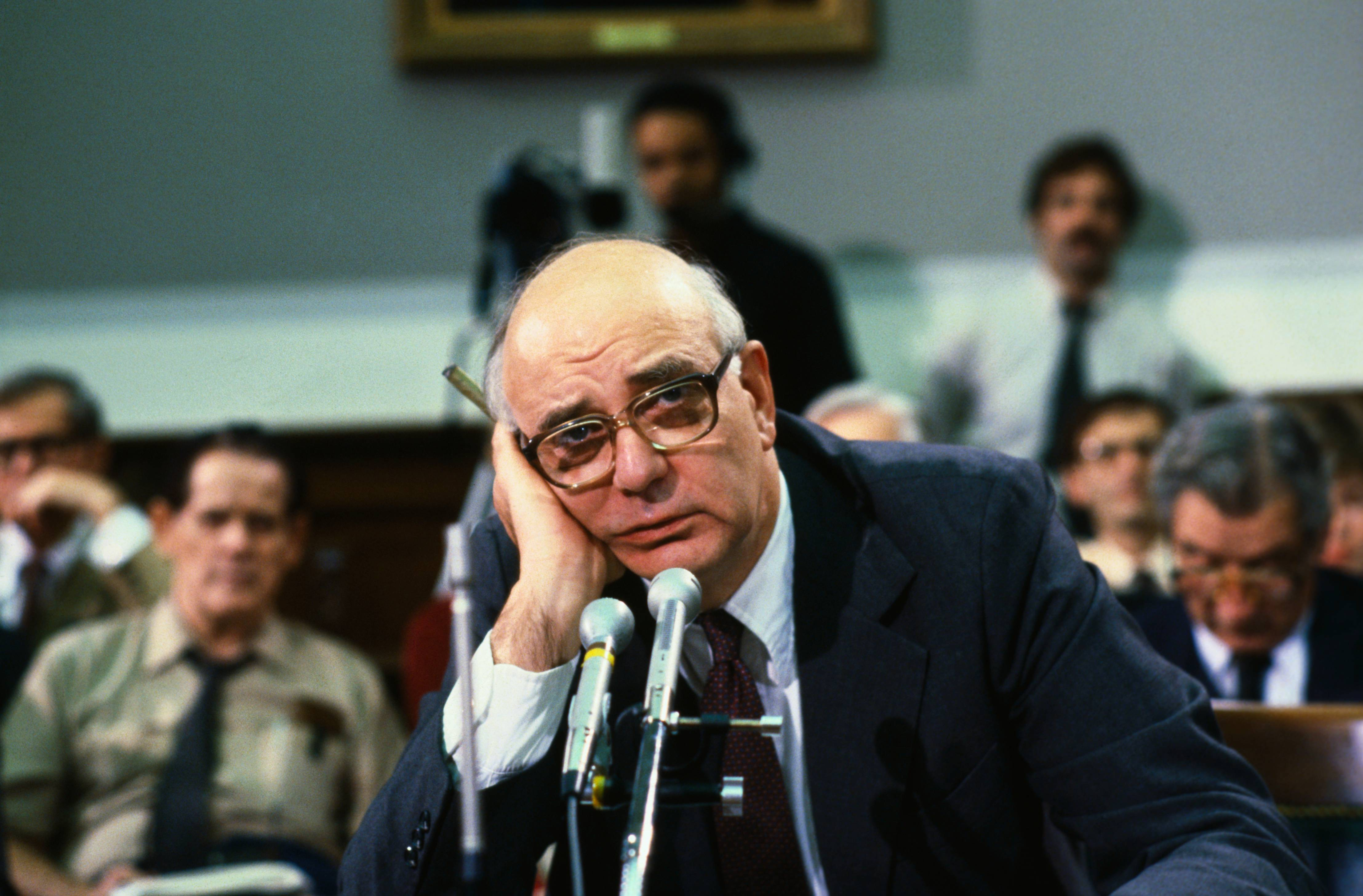 Paul Volcker Looking Tired