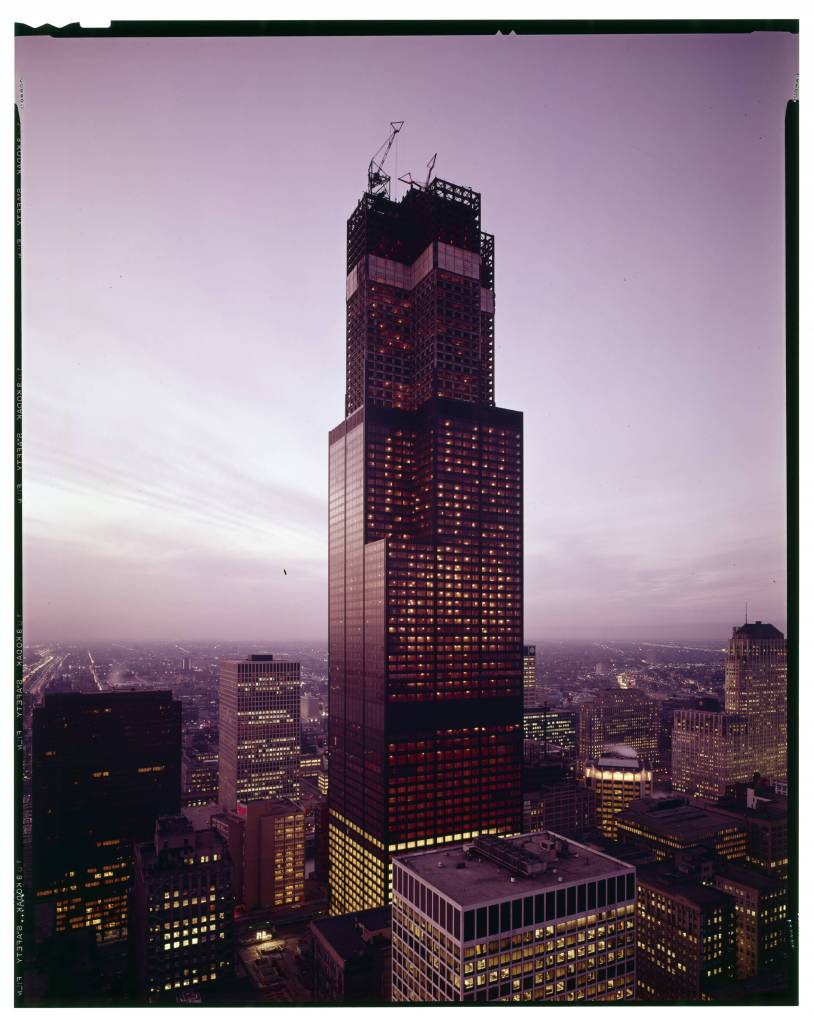 Sears Tower Under Construction