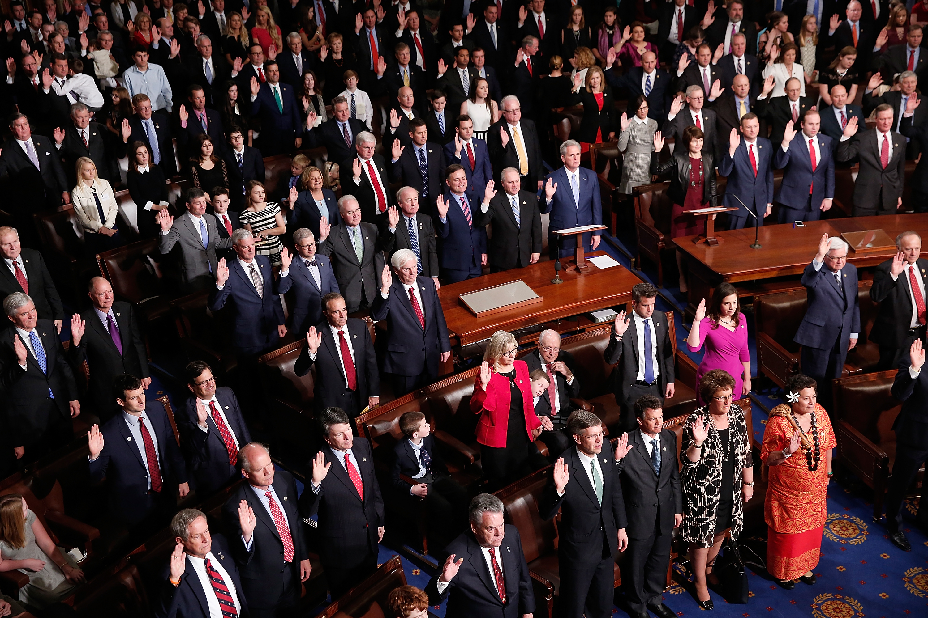 A Changing Of The Guard As The 115th U.S. Congress Convenes