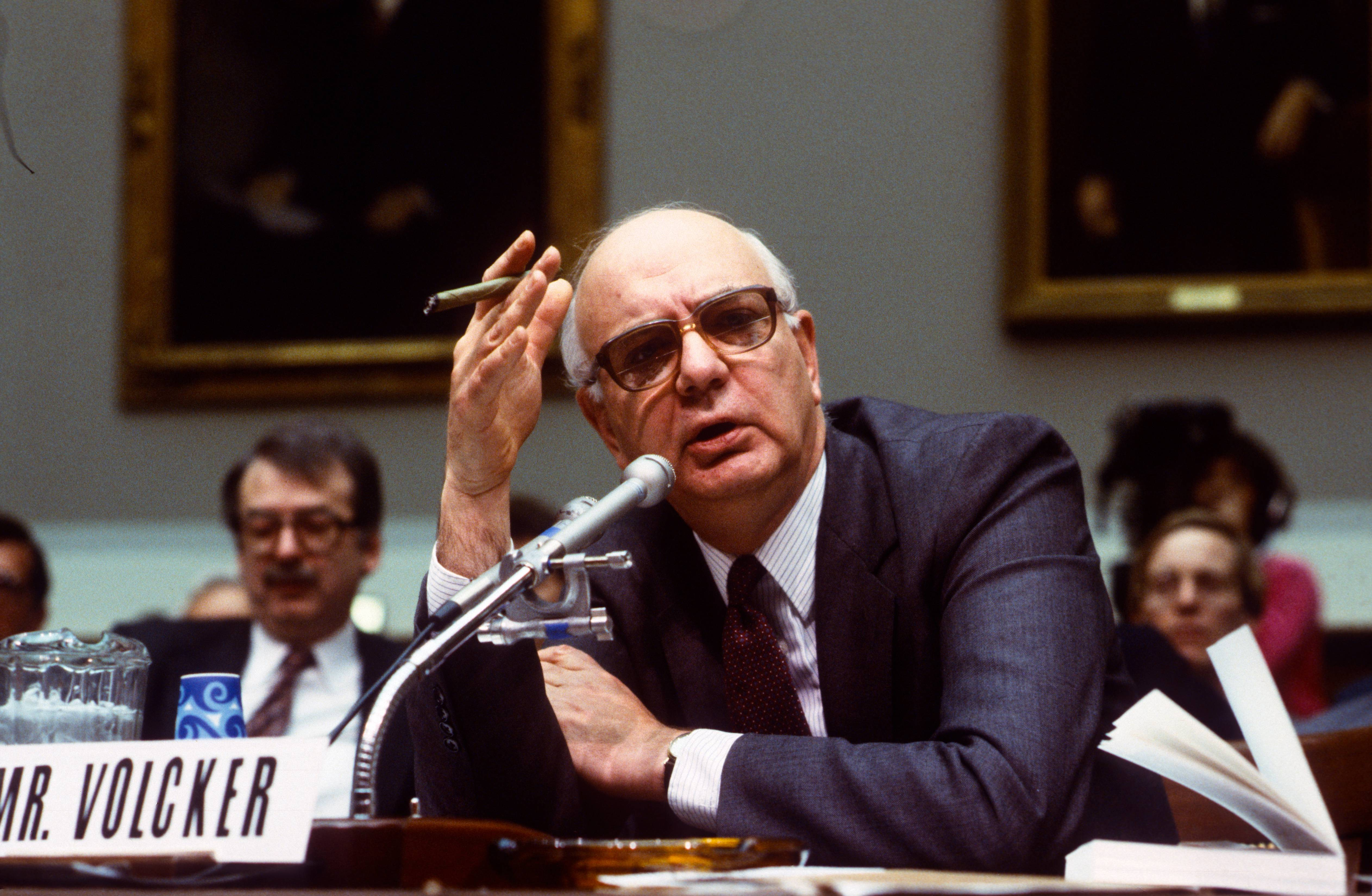 Paul Volcker Testifies Before Banking Committee