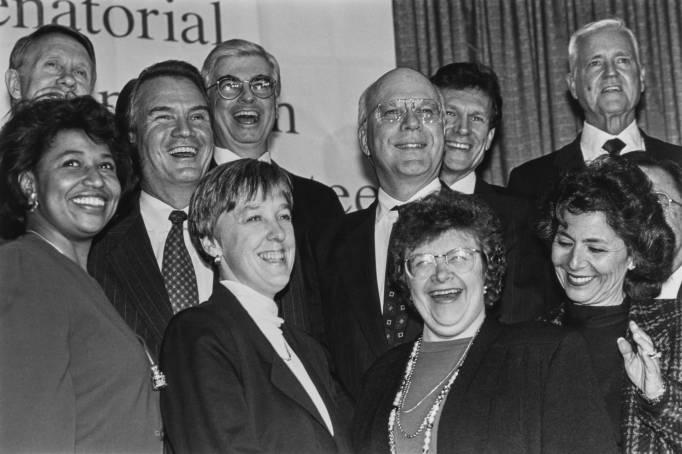 1992 Democratic Senate Class photo