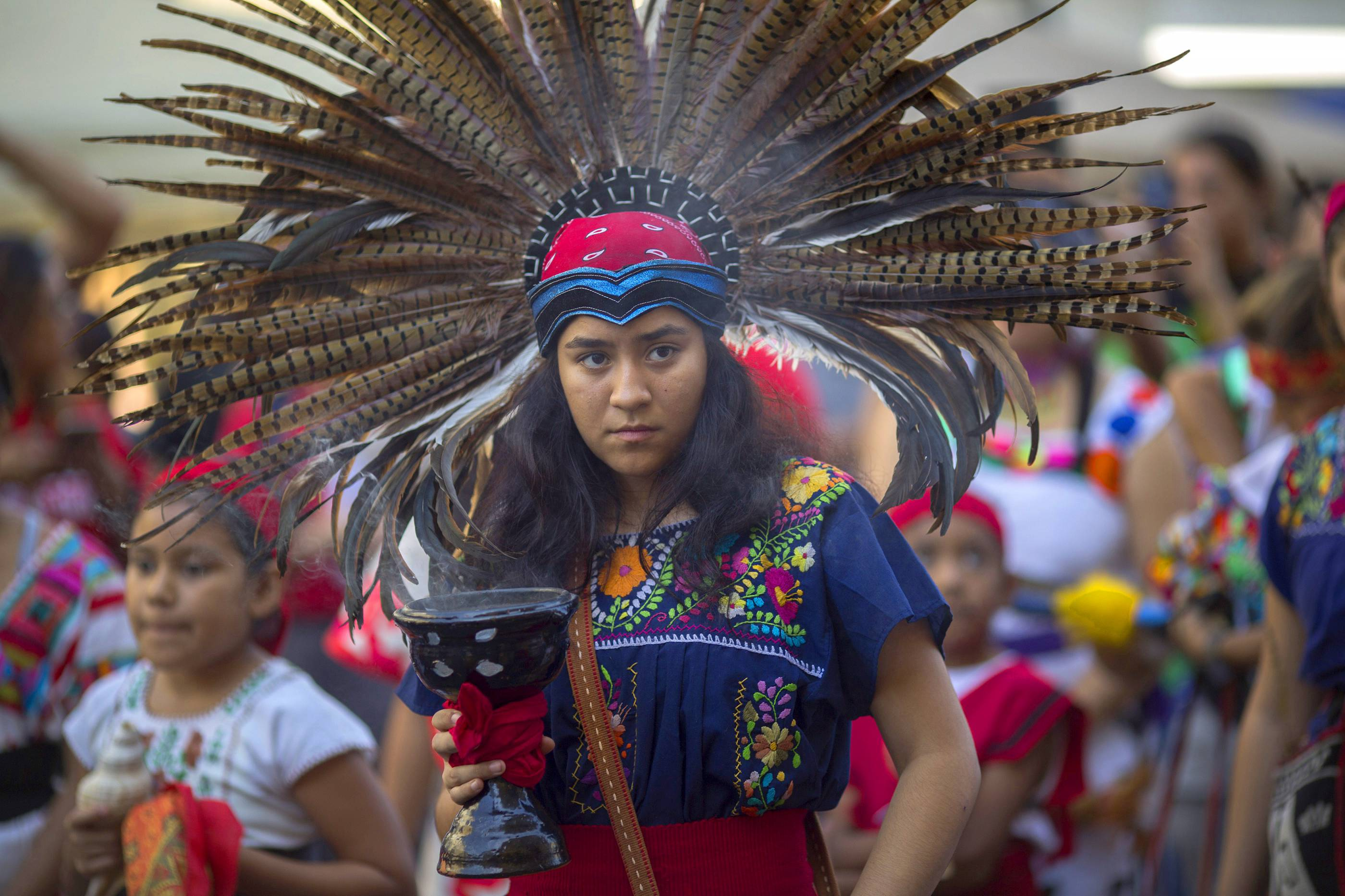 Native American Activists Celebrate Decision To Mark Columbus Day In LA County As Indigenous Peoples Day