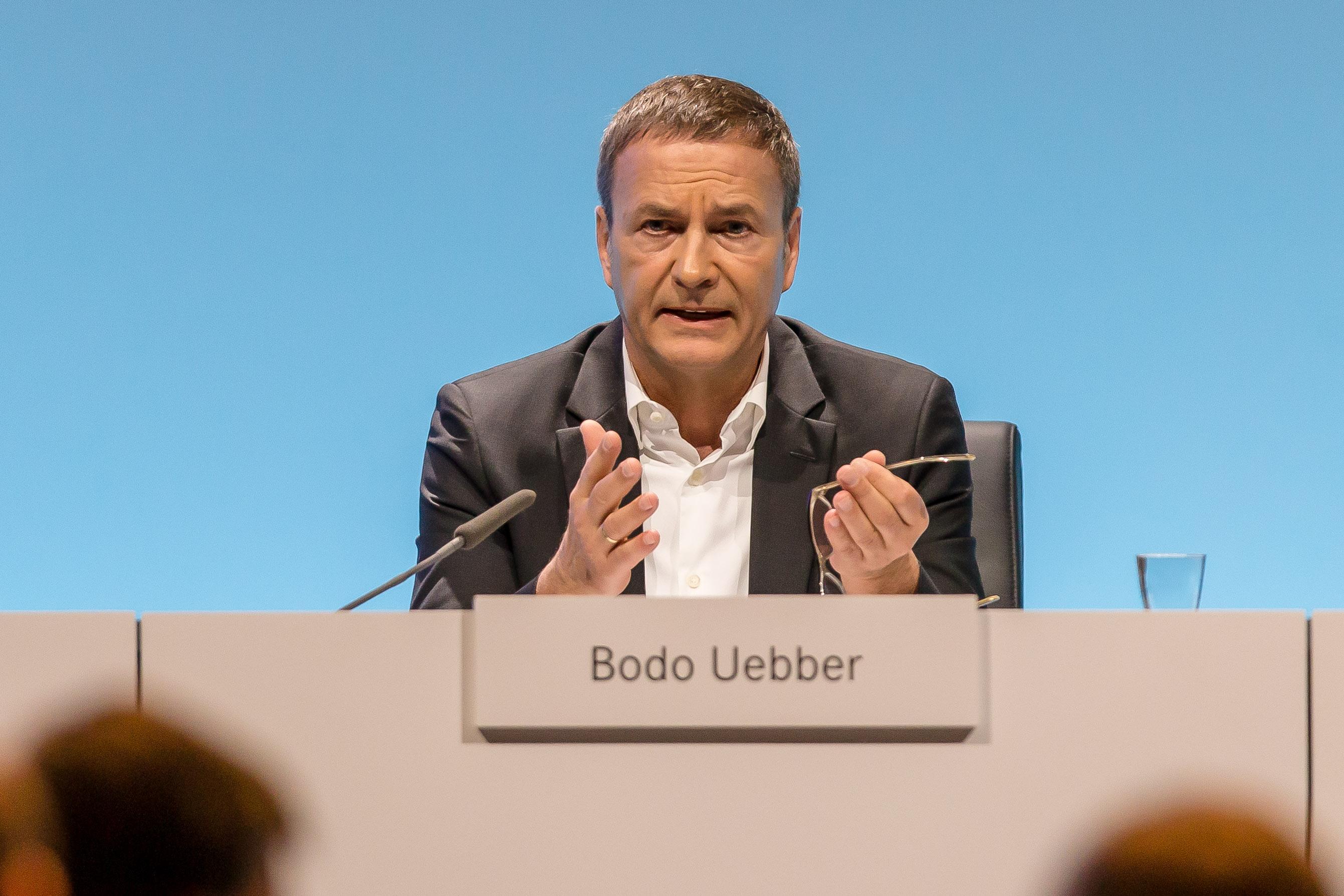 Daimler AG CFO Bodo Uebber