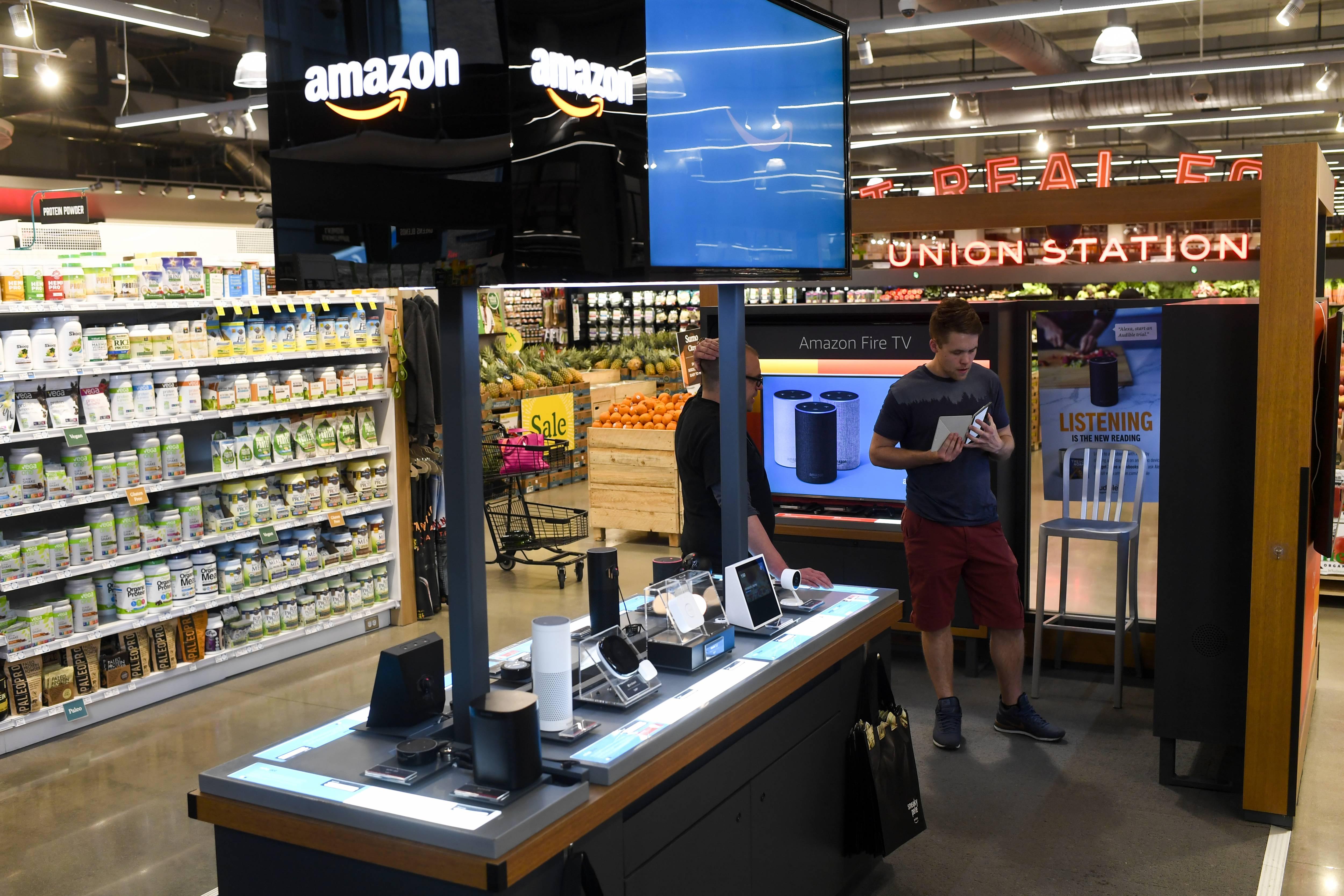 Amazon Pop-Up in Denver