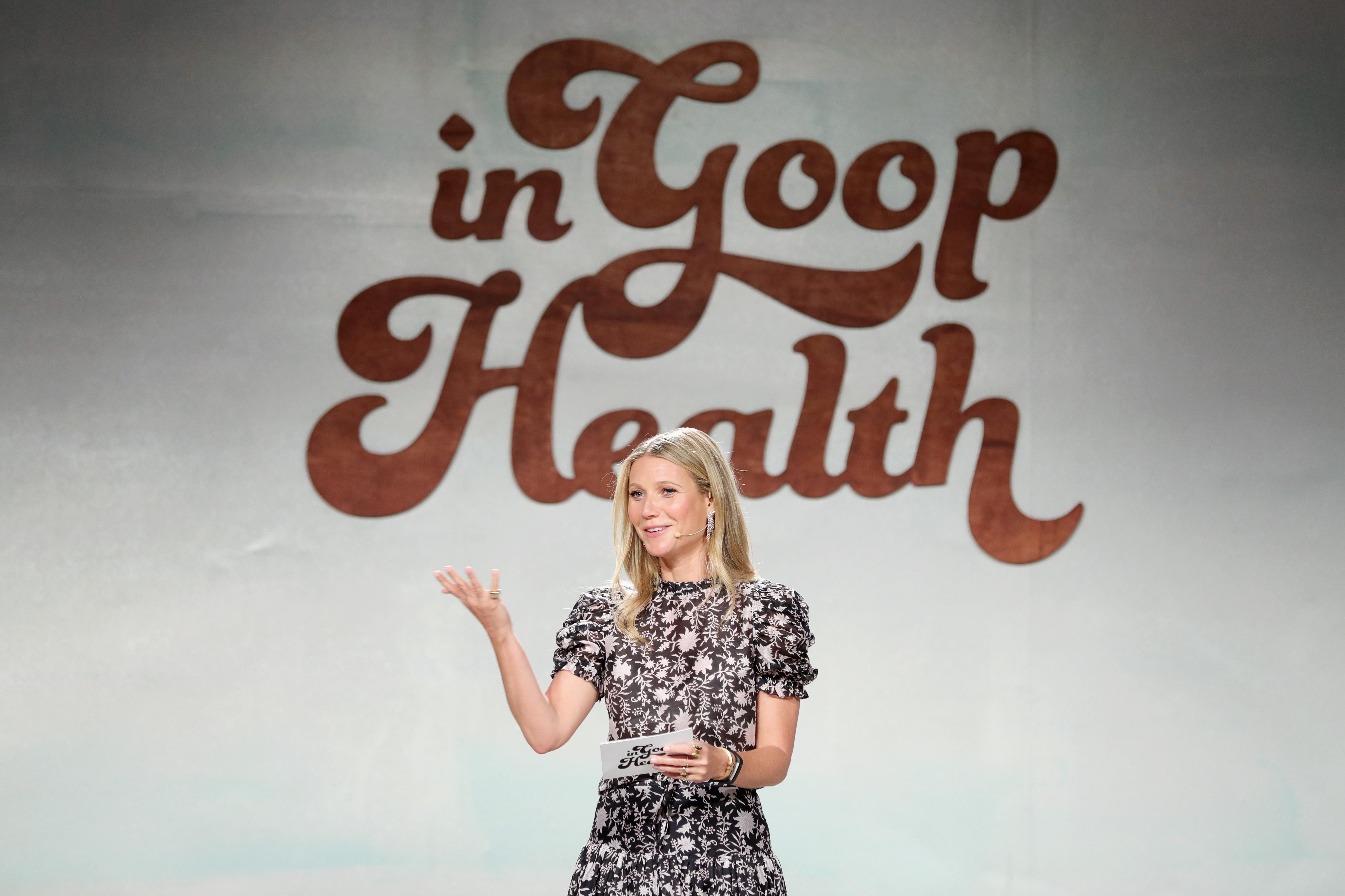 In goop Health Summit