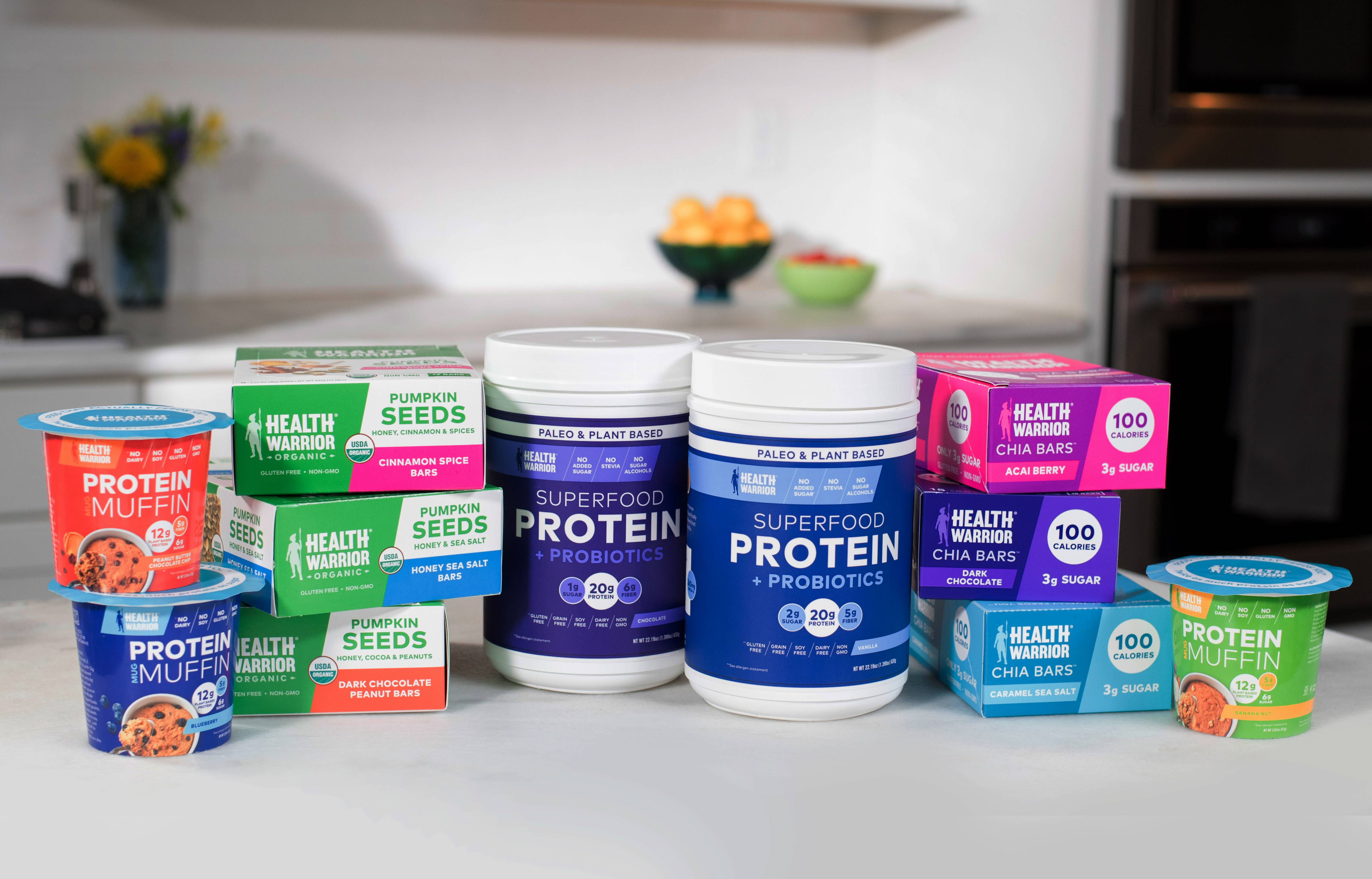 PepsiCo has acquired Health Warrior, a plant-based snack bar brand.
