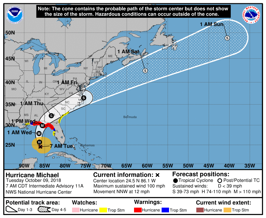 hurricane-michael-projected-path.8am-10-9-2018