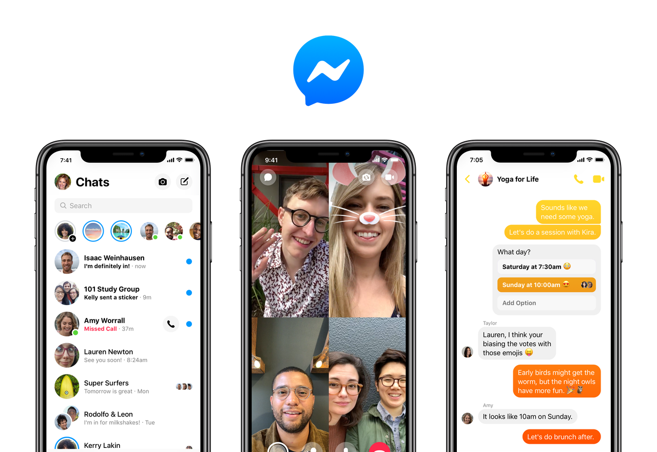 Here's What's New in Facebook's Revamped Messenger | Fortune
