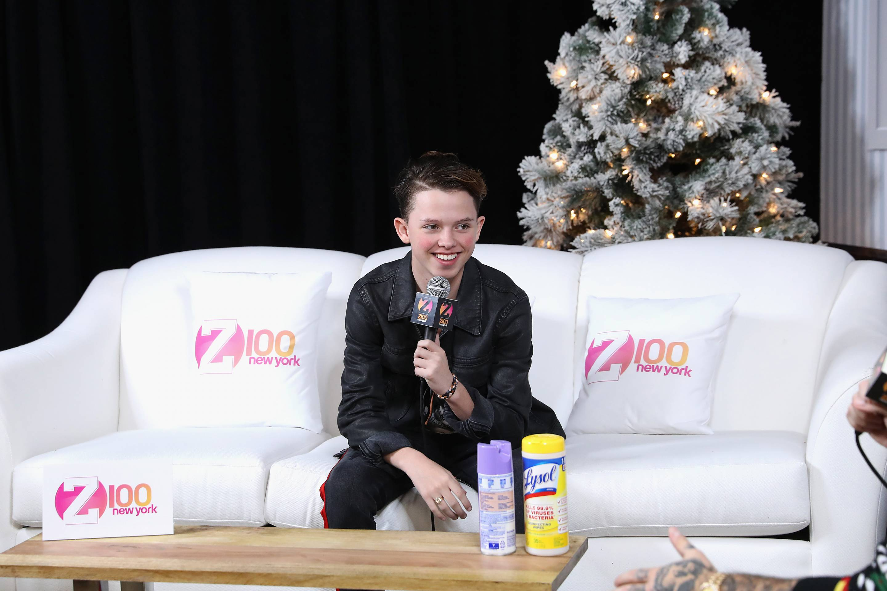 Social media influencer Jacob Sartorius attends the Z100 & Coca-Cola All Access Lounge at Hammerstein Ballroom on Dec. 8, 2017, in New York City.