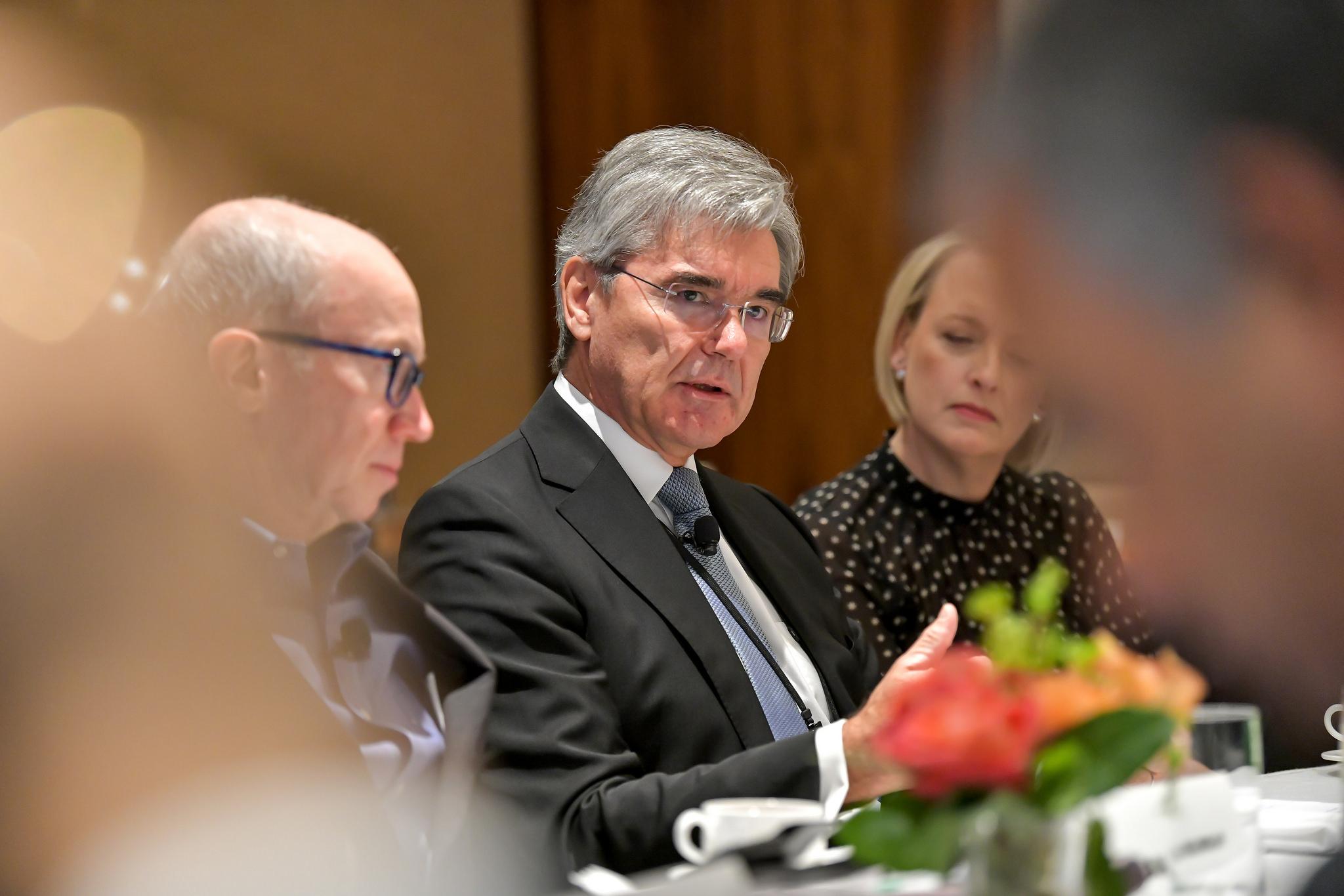 Fortune Global Forum Siemens CEO Joe Kaeser