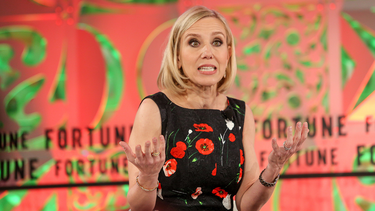 Marne Levine, COO of Instagram and the Head of Global Partnerships and Business Development for Facebook speaks at the Fortune Most Powerful Women Summit at Laguna Niguel, Calif. on Oct. 4, 2018. Photo by Fortune Most Powerful Women.