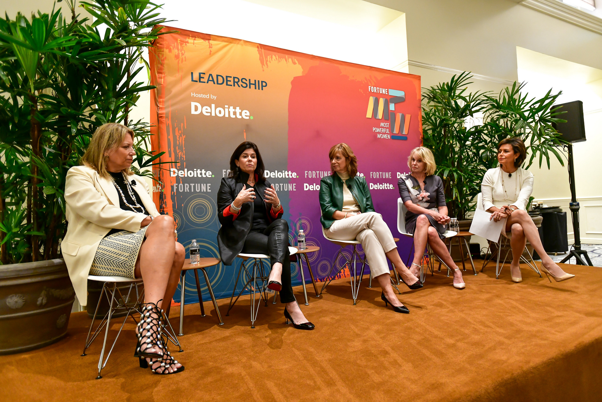 Executives at Fortune's Most Powerful Women Summit shared how they've learned to lead with authenticity.