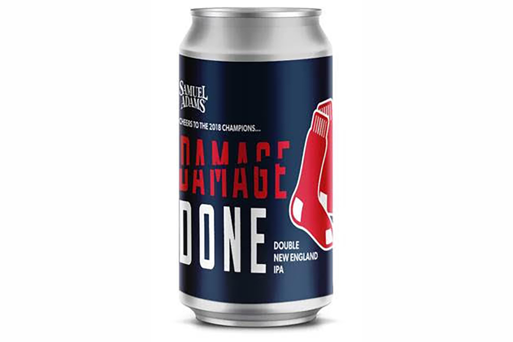 sam adams-boston red sox beer
