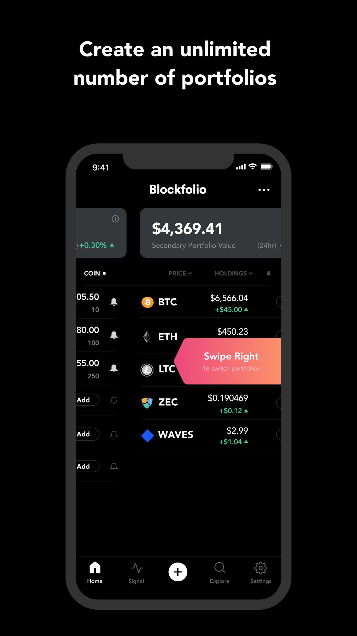 best cryptocurrency portfolio tracker ios