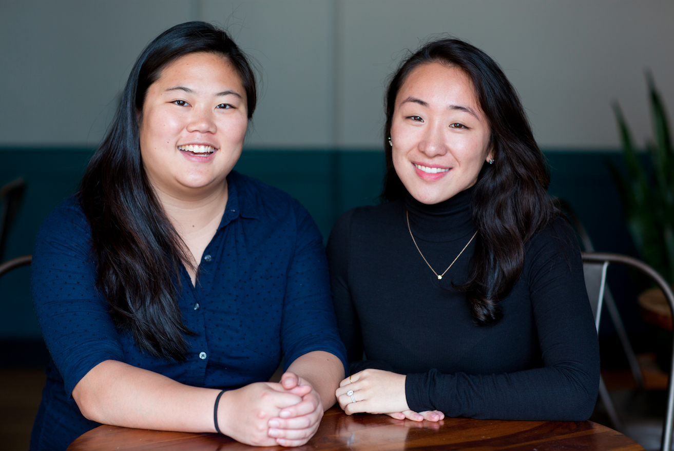 Computer science education startup Juni Learning, cofounded by Ruby Lee, left, and Vivian Shen, is backed by Arielle Zuckerberg and Y Combinator's Jessica Livingston. Credit: Juni Learning