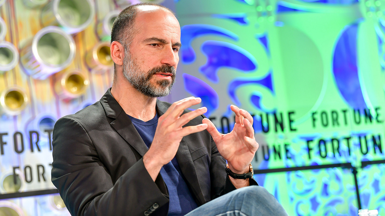 Uber CEO Dara Khosrowshahi Fortune Most Powerful Women