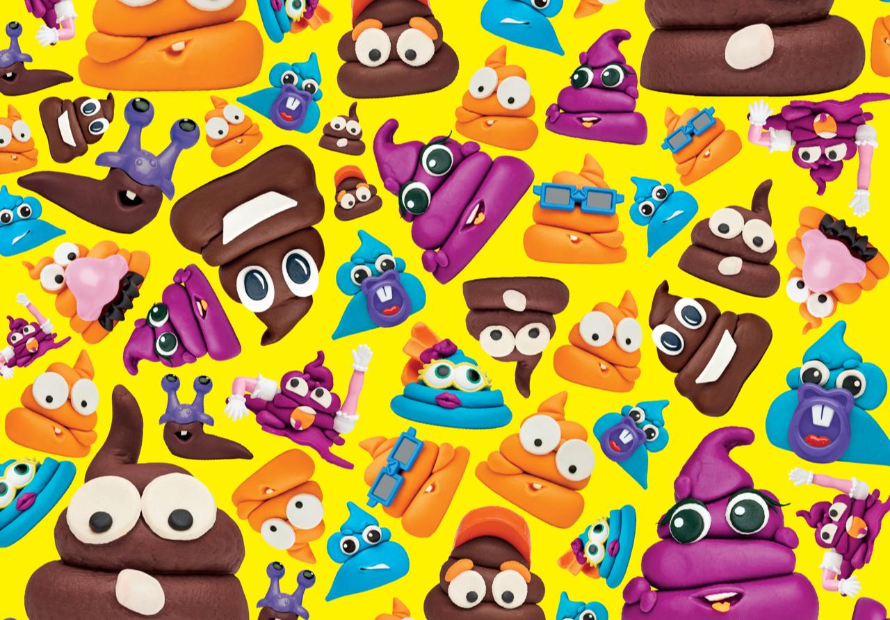 Hasbro Play-Doh Poop
