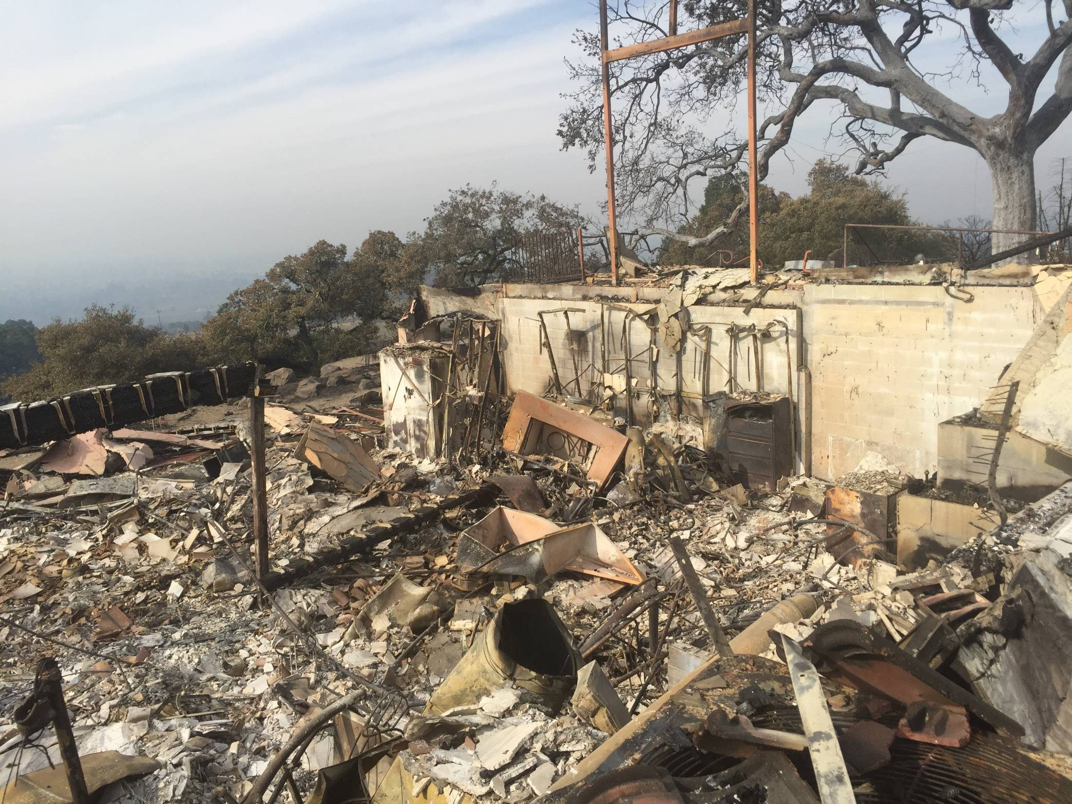 Paradise Ridge Winery After Tubbs Fire