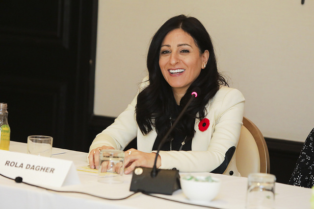 Cisco's Rola Dagher talked about the future of work at Fortune MPW International in Montreal.