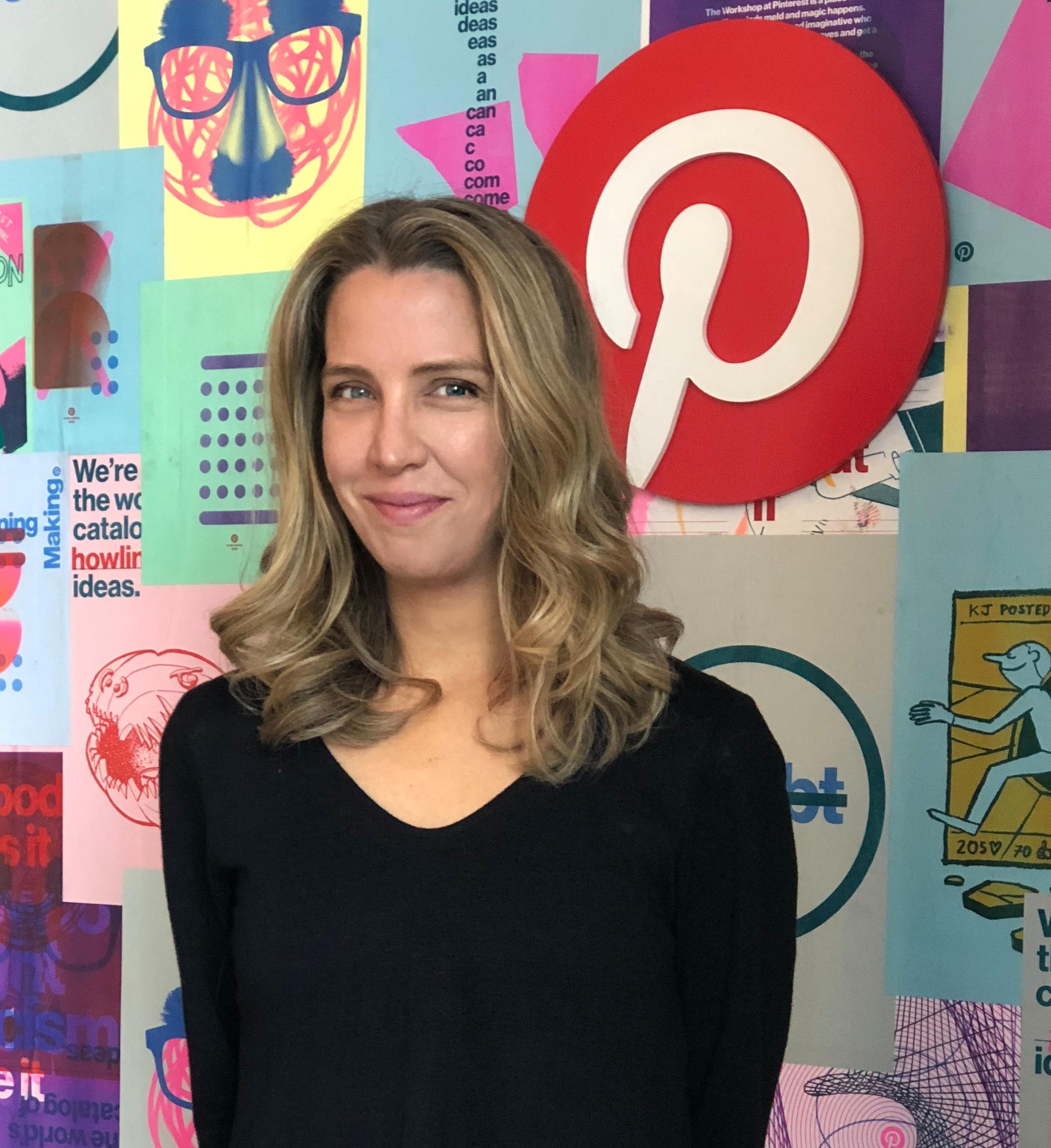 Andréa Mallard, Pinterest's new chief marketing officer.