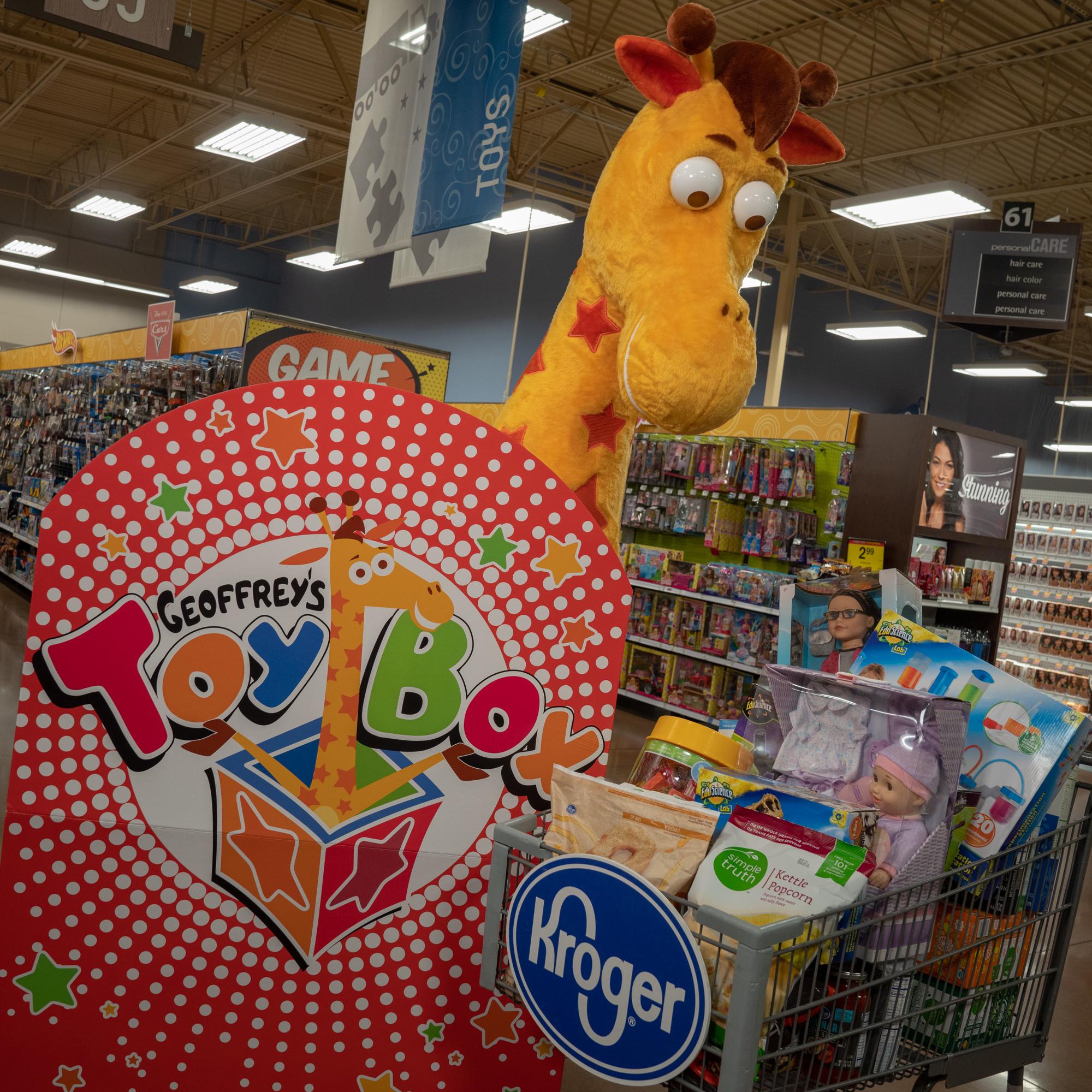 Geoffrey's toy box kroger