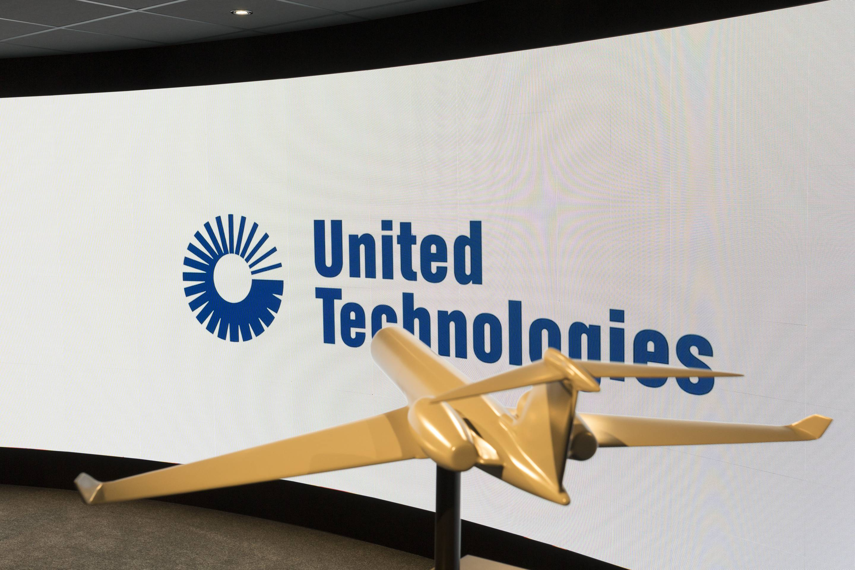 United Technologies Presentation Screen