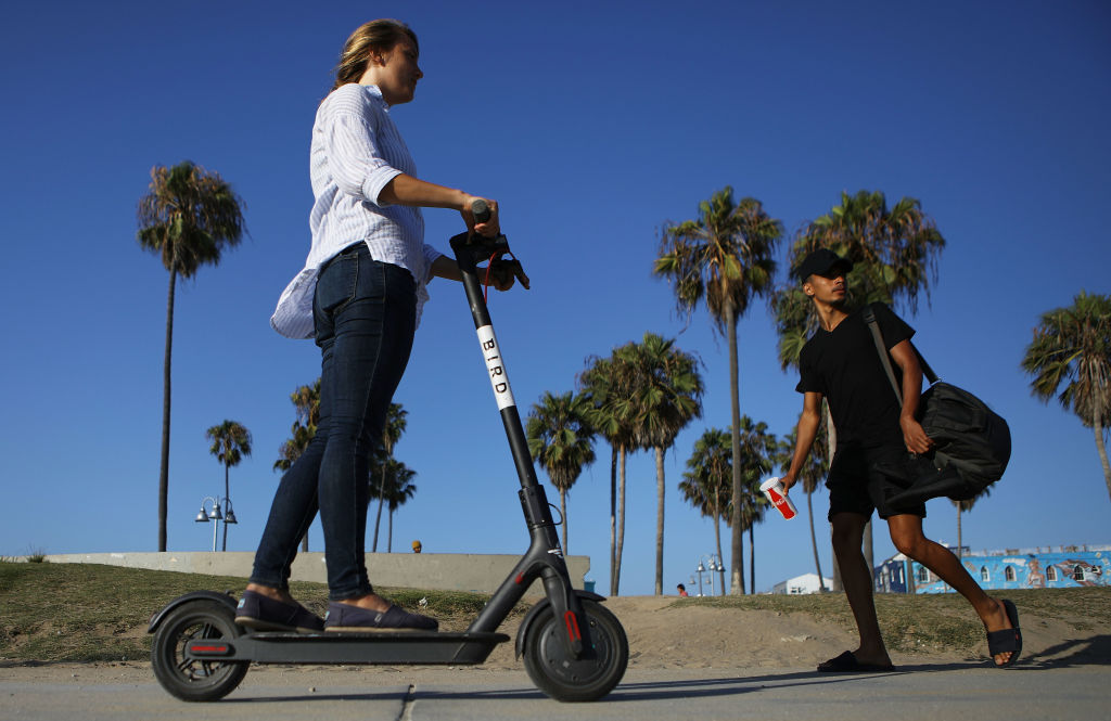 Controversial E-Scooters Around Los Angeles Stir Debate And Anger
