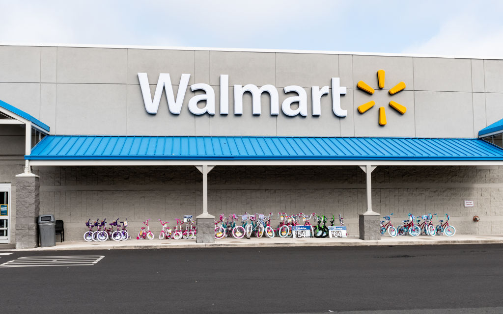 Walmart store in North Brunswick Township, New Jersey
