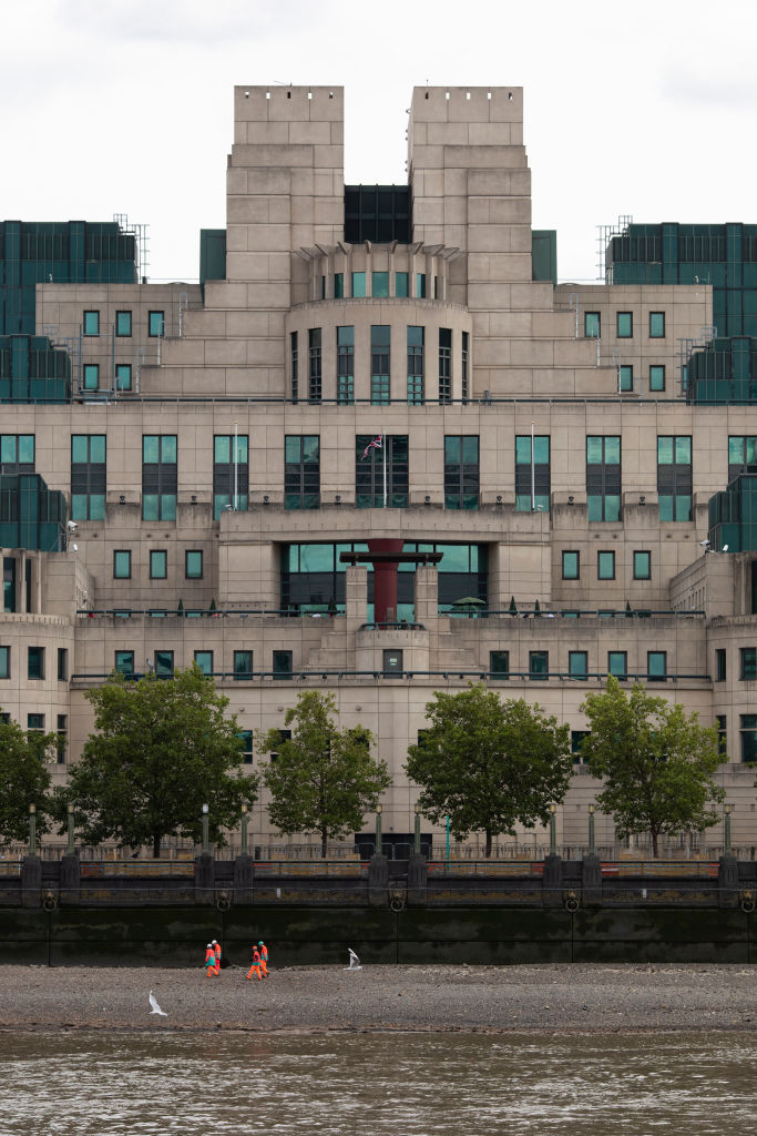 London's MI6 Headquarters