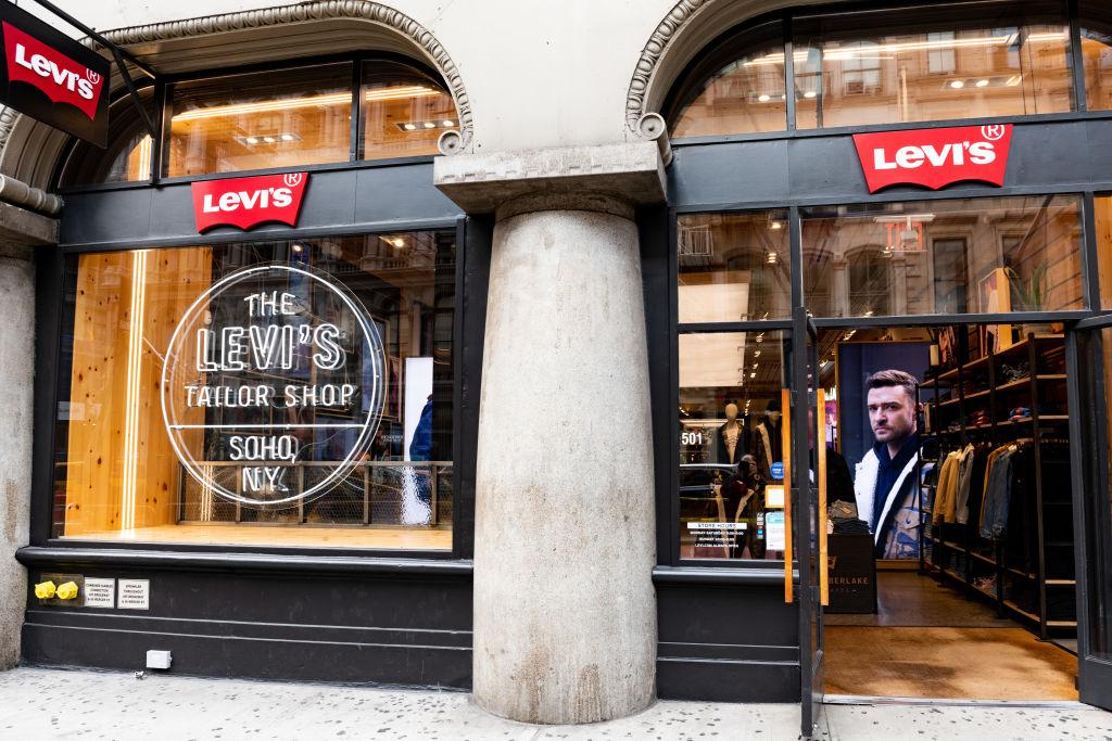 Levi's store in the SoHo neighbourhood of New York City