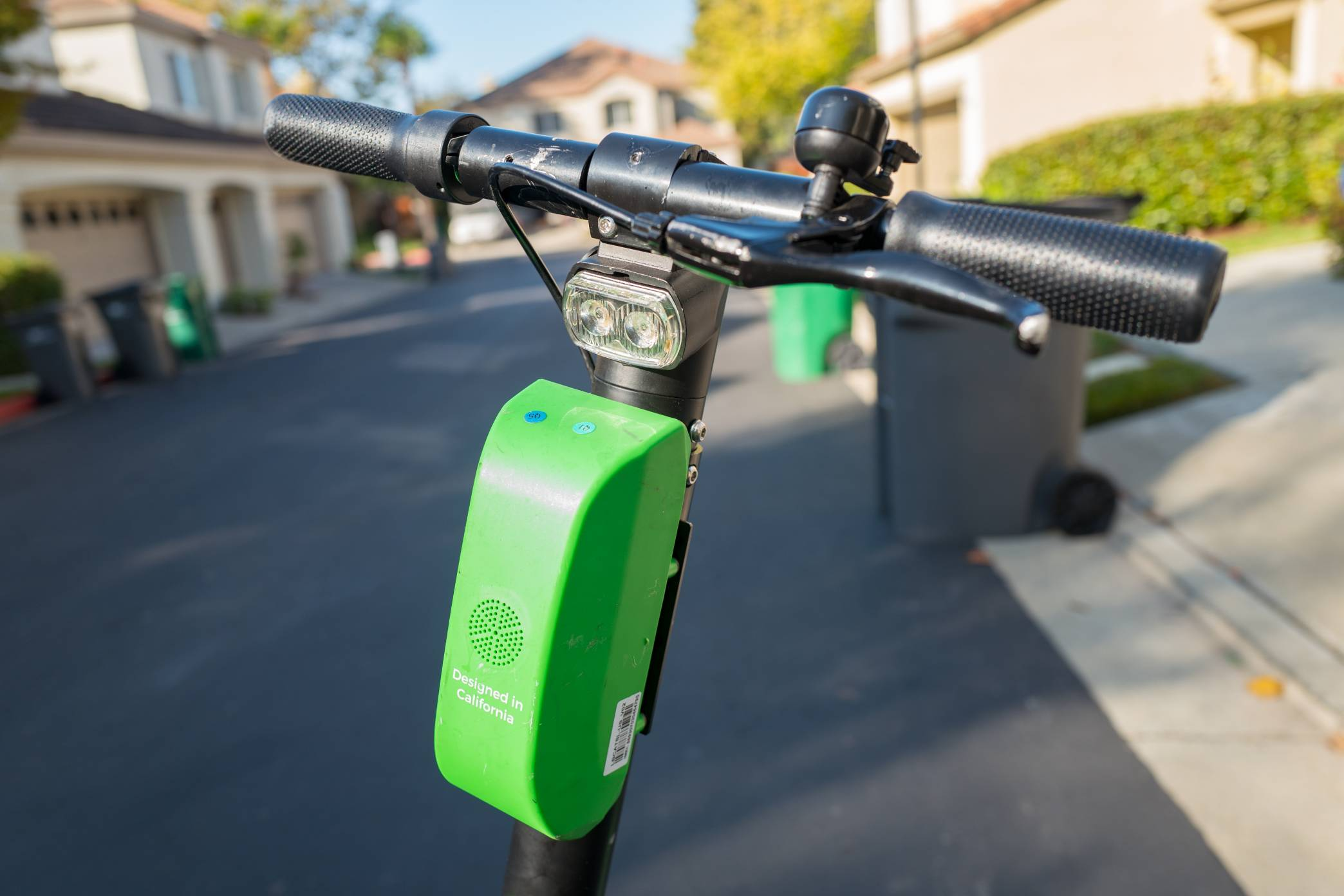 Lime Scooter Handlebars