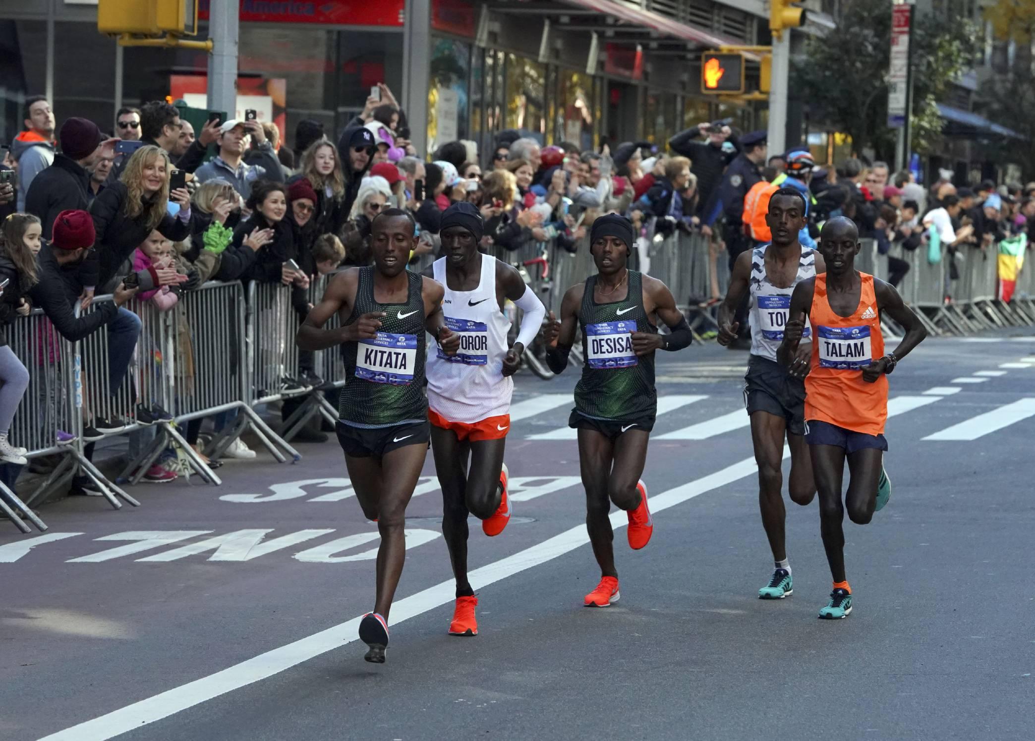 2018 New York City Marathon Runners Win