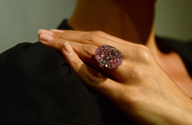 US-AUCTION-PINK DIAMOND-SOTHEBY'S
