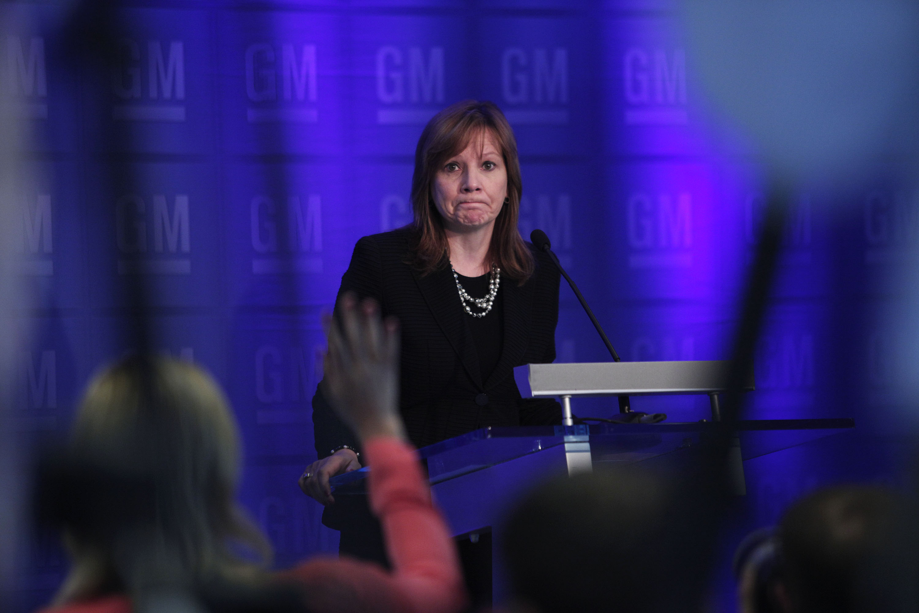 General Motors Holds Annual Shareholders Meeting